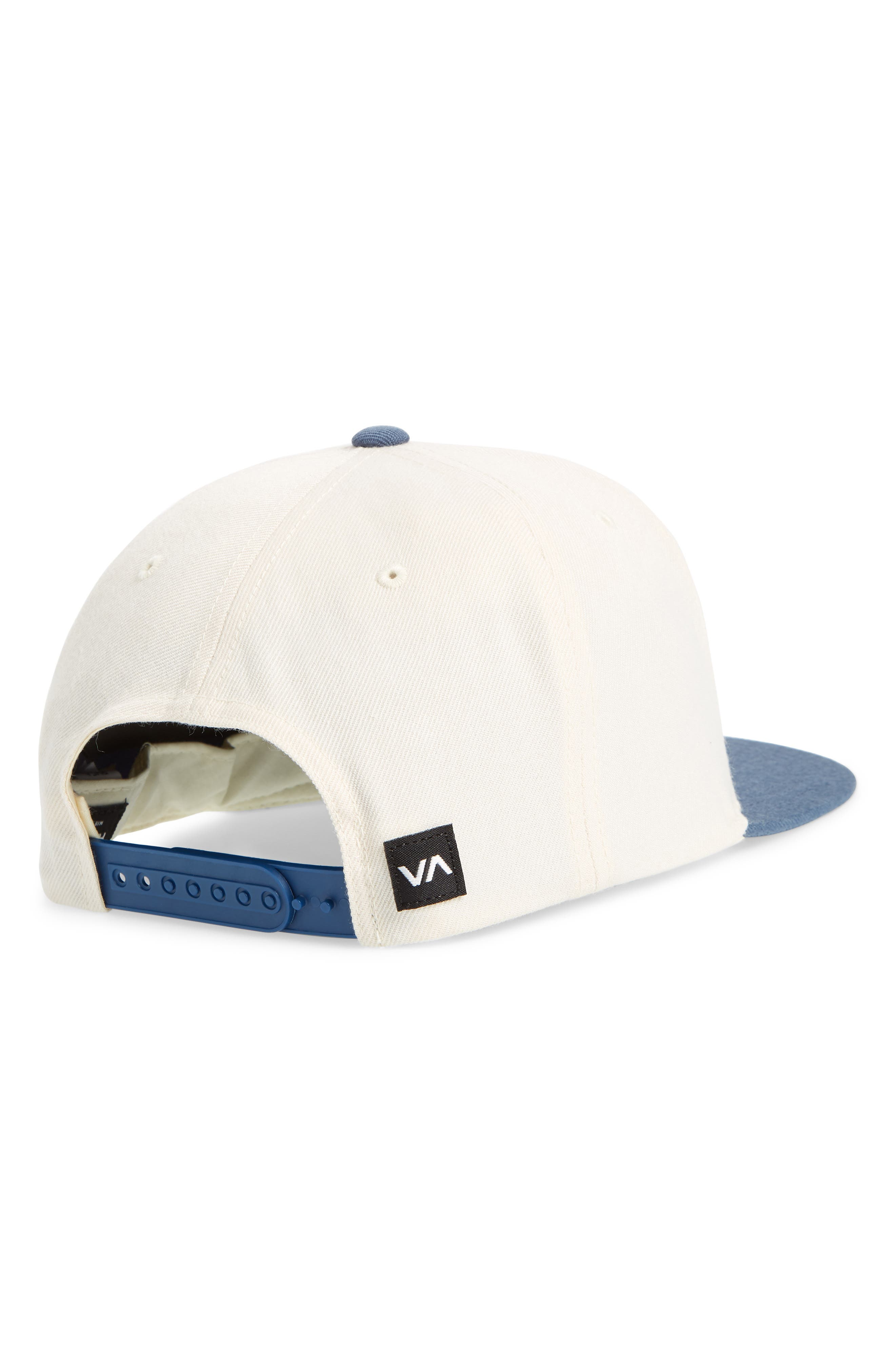 RVCA, What Logo Patch Baseball Cap, Alternate thumbnail 2, color, 100