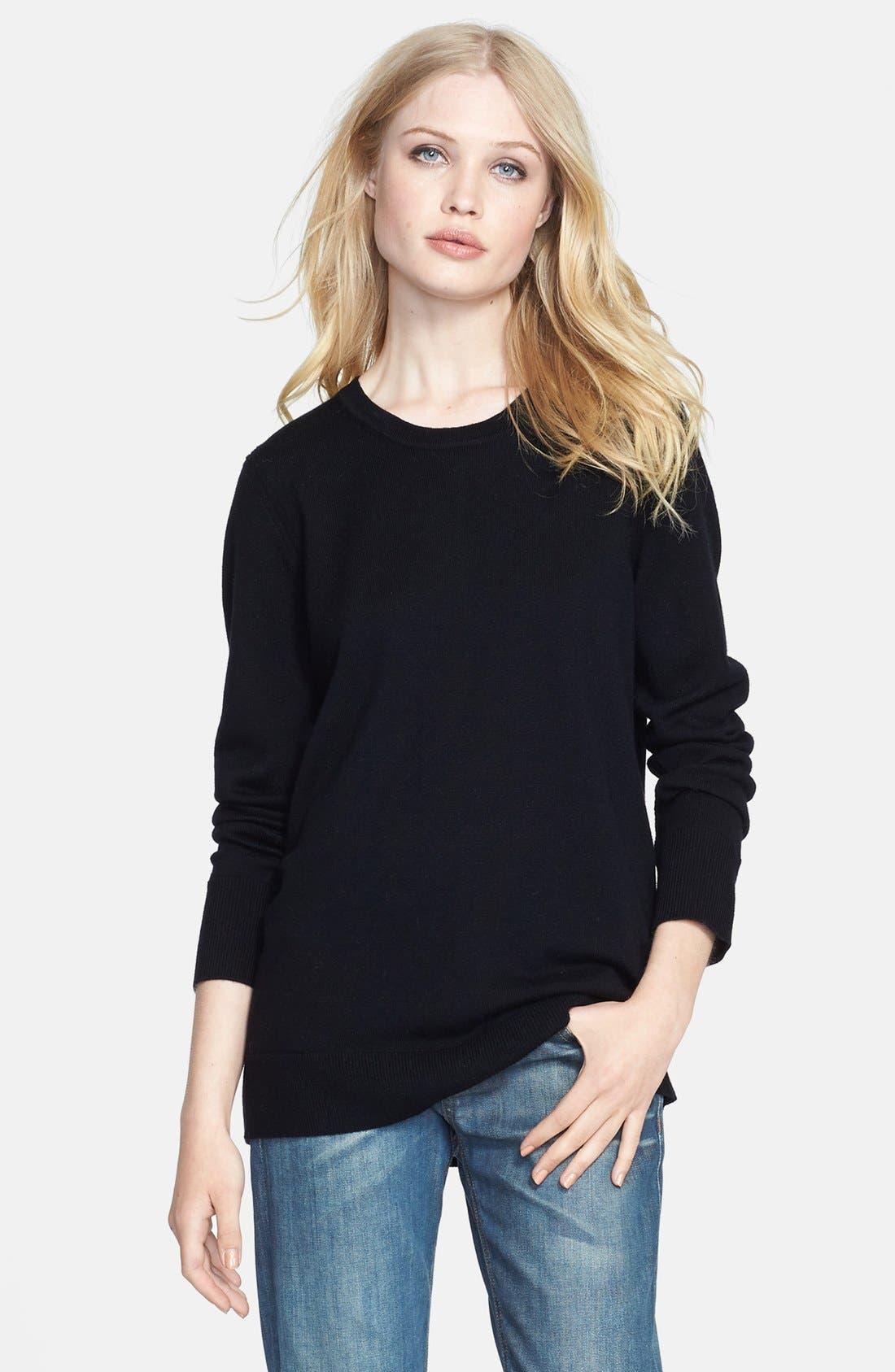 RAG & BONE JEAN 'Natalie' Sweater, Main, color, 001