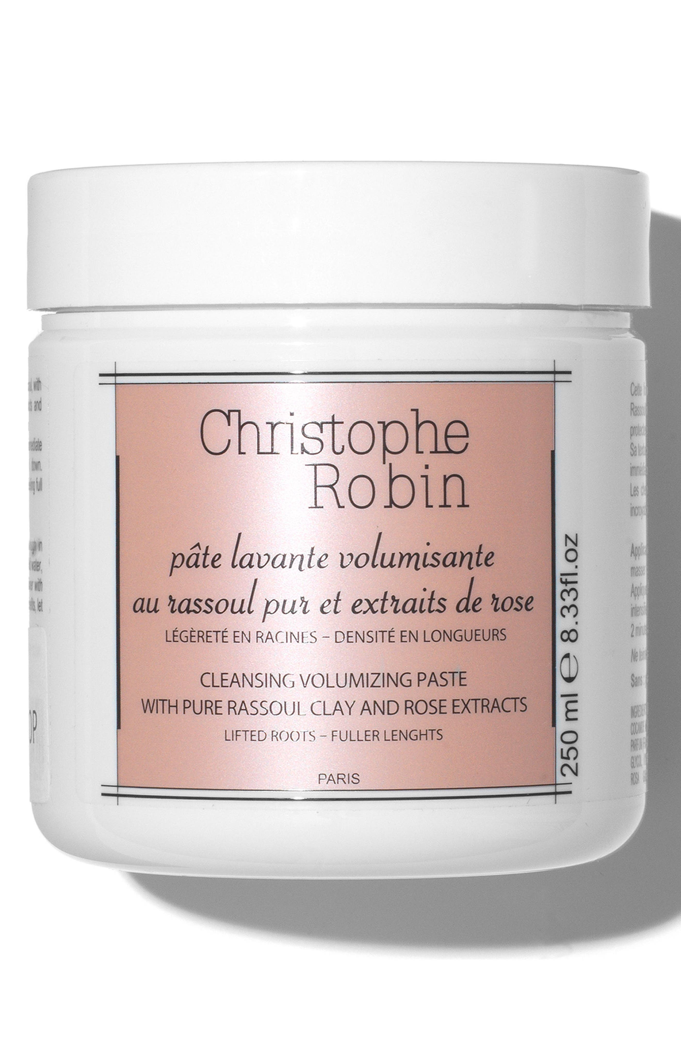 CHRISTOPHE ROBIN, SPACE.NK.apothecary Christophe Robin Cleansing & Volumizing Paste, Main thumbnail 1, color, 000