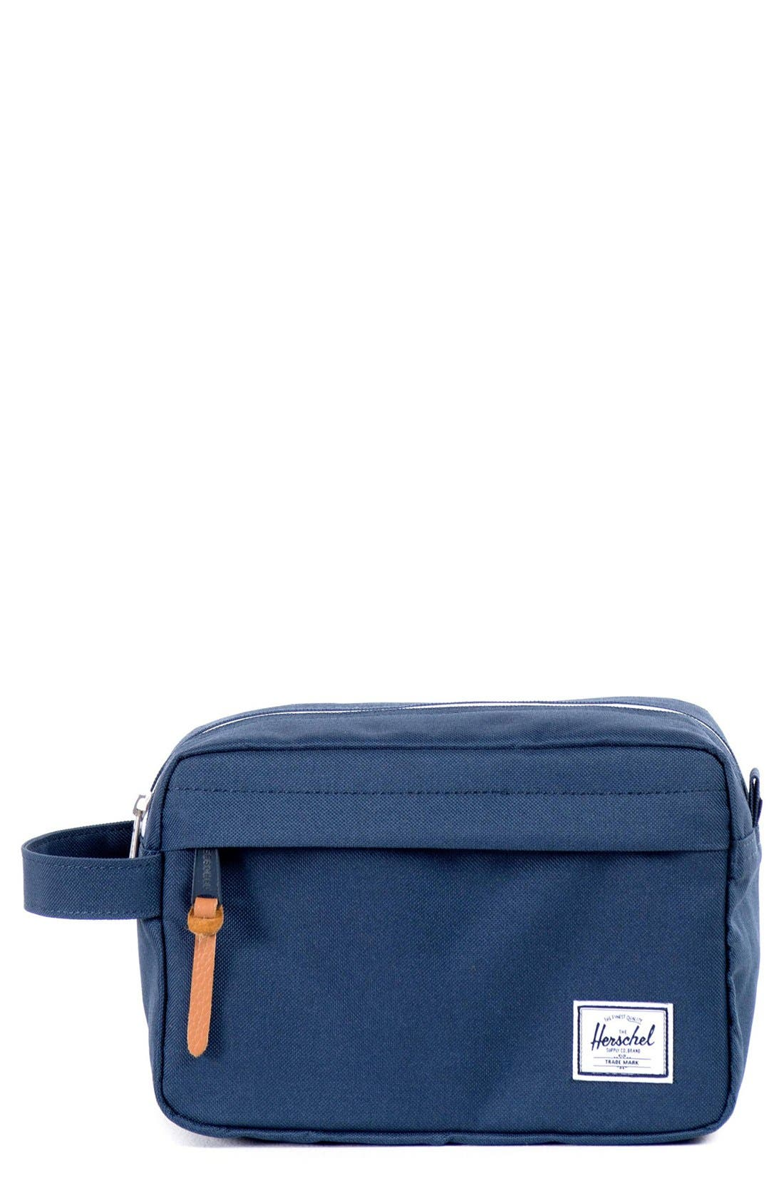 HERSCHEL SUPPLY CO., Chapter Dopp Kit, Main thumbnail 1, color, NAVY