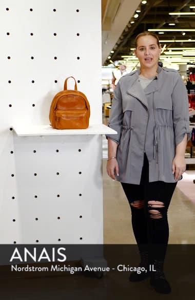 Mini Lorimer Leather Backpack, sales video thumbnail
