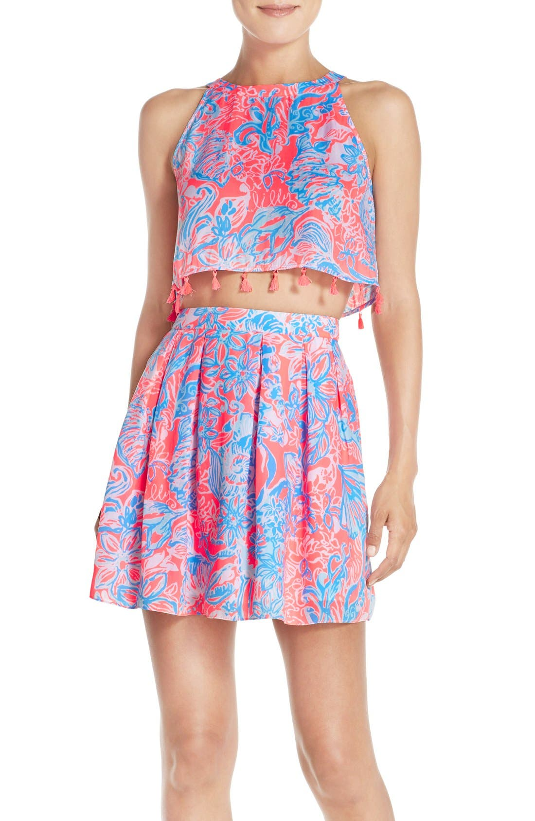 LILLY PULITZER<SUP>®</SUP>, 'Selina' Two-Piece Dress, Main thumbnail 1, color, 677