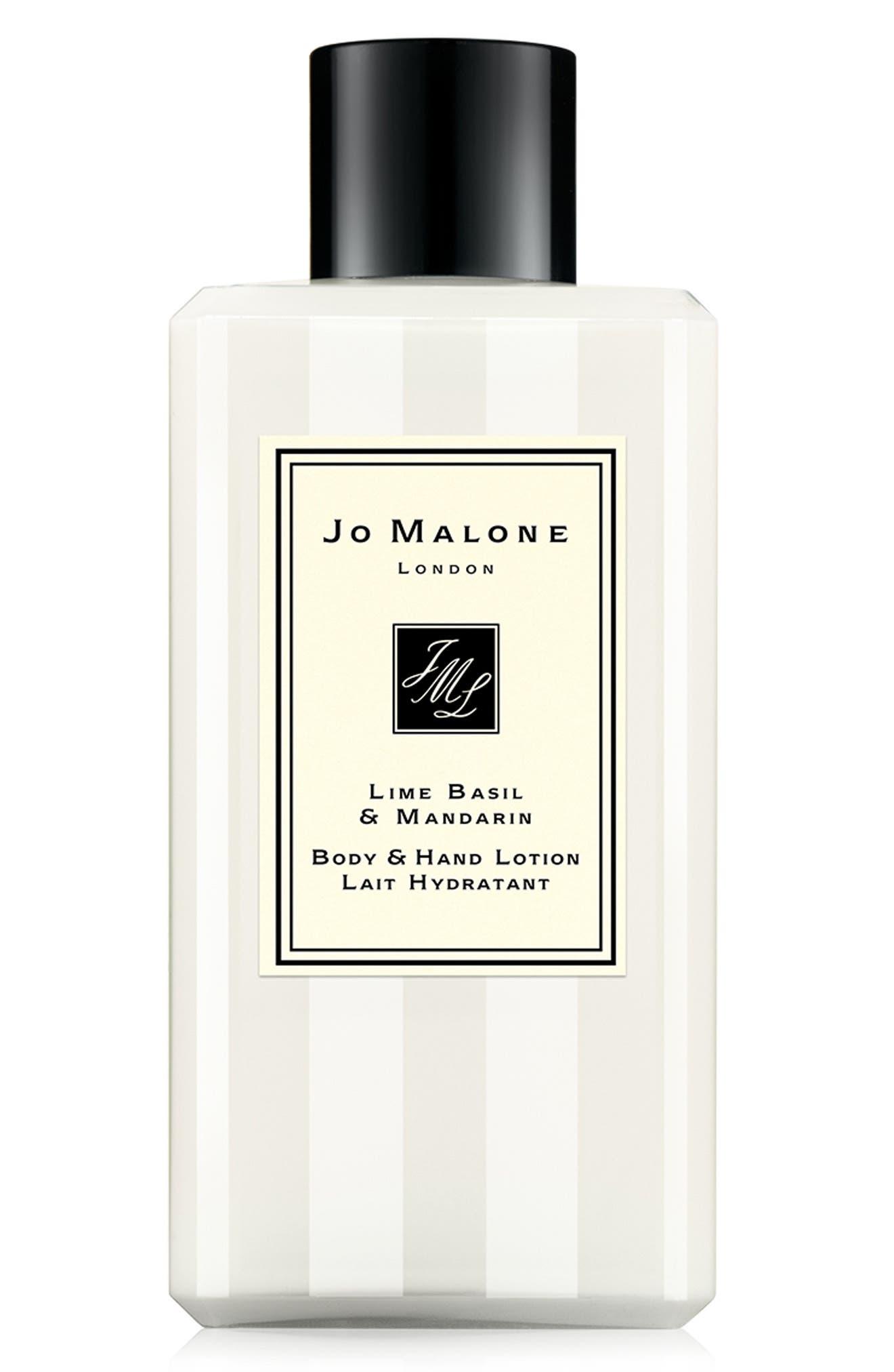 JO MALONE LONDON<SUP>™</SUP>, Lime Basil & Mandarin Body & Hand Lotion, Alternate thumbnail 2, color, NO COLOR