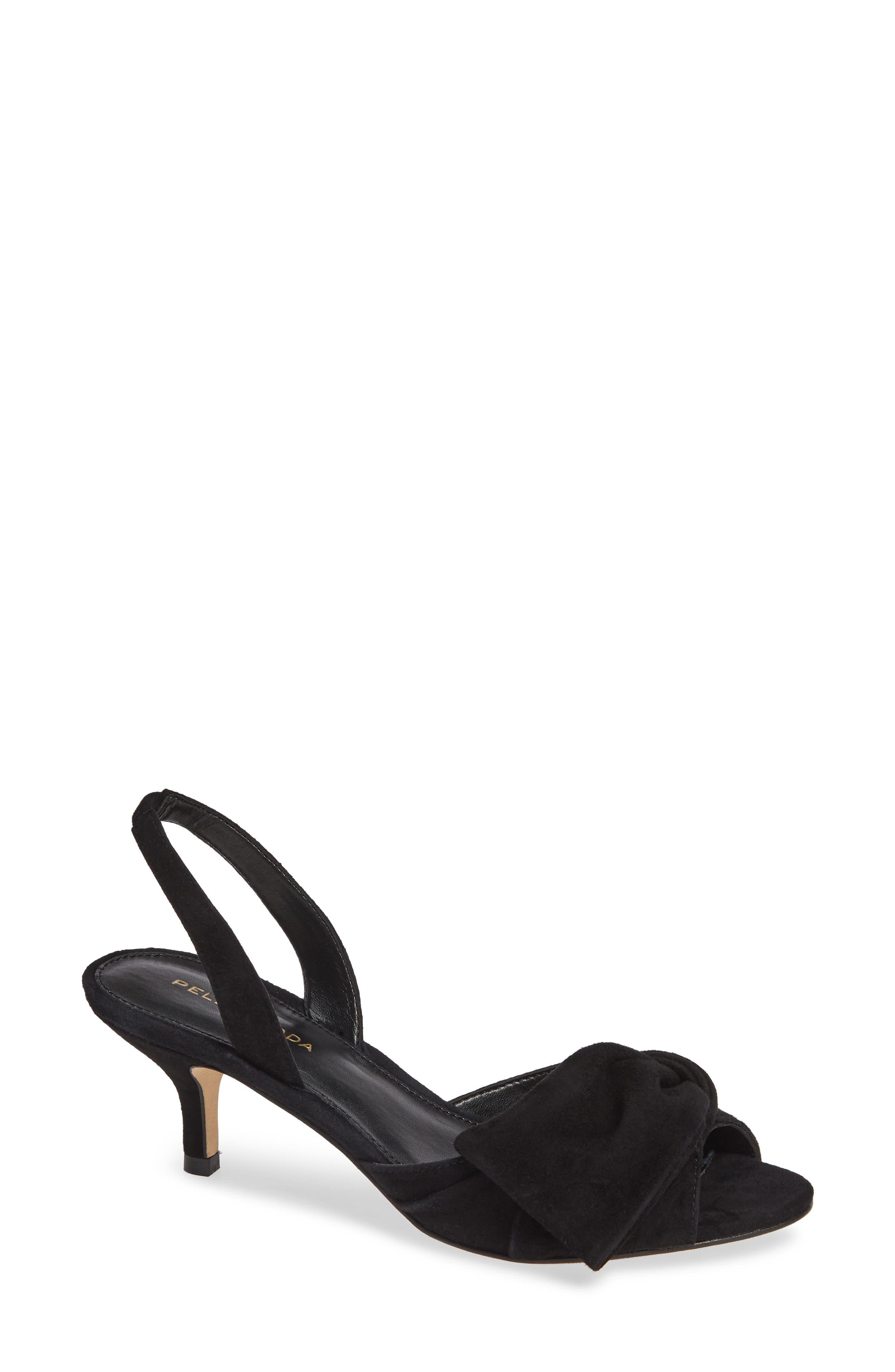 PELLE MODA Lovi Sandal, Main, color, BLACK