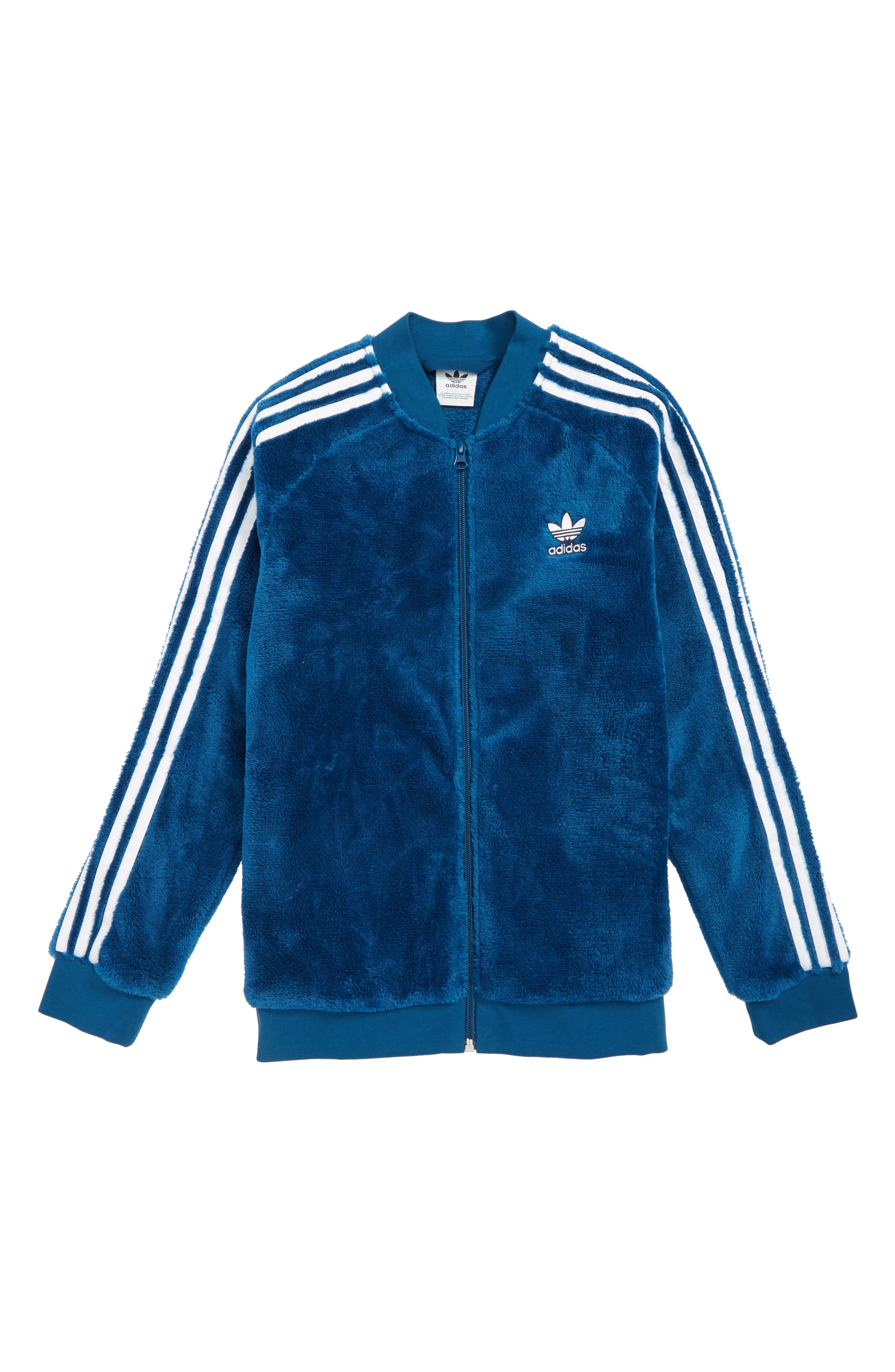 ADIDAS ORIGINALS Winter SST Jacket, Main, color, LEGEND MARINE/ WHITE
