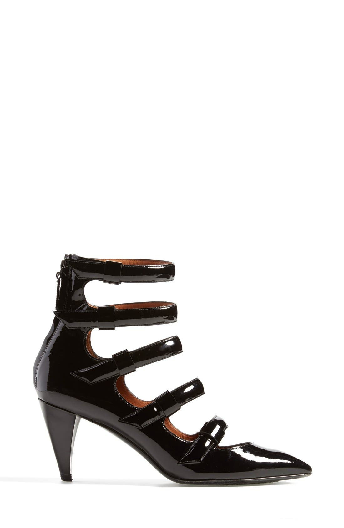 MARC JACOBS, MARC BY MARC JACOBS 'Runway' Pump, Alternate thumbnail 4, color, 001