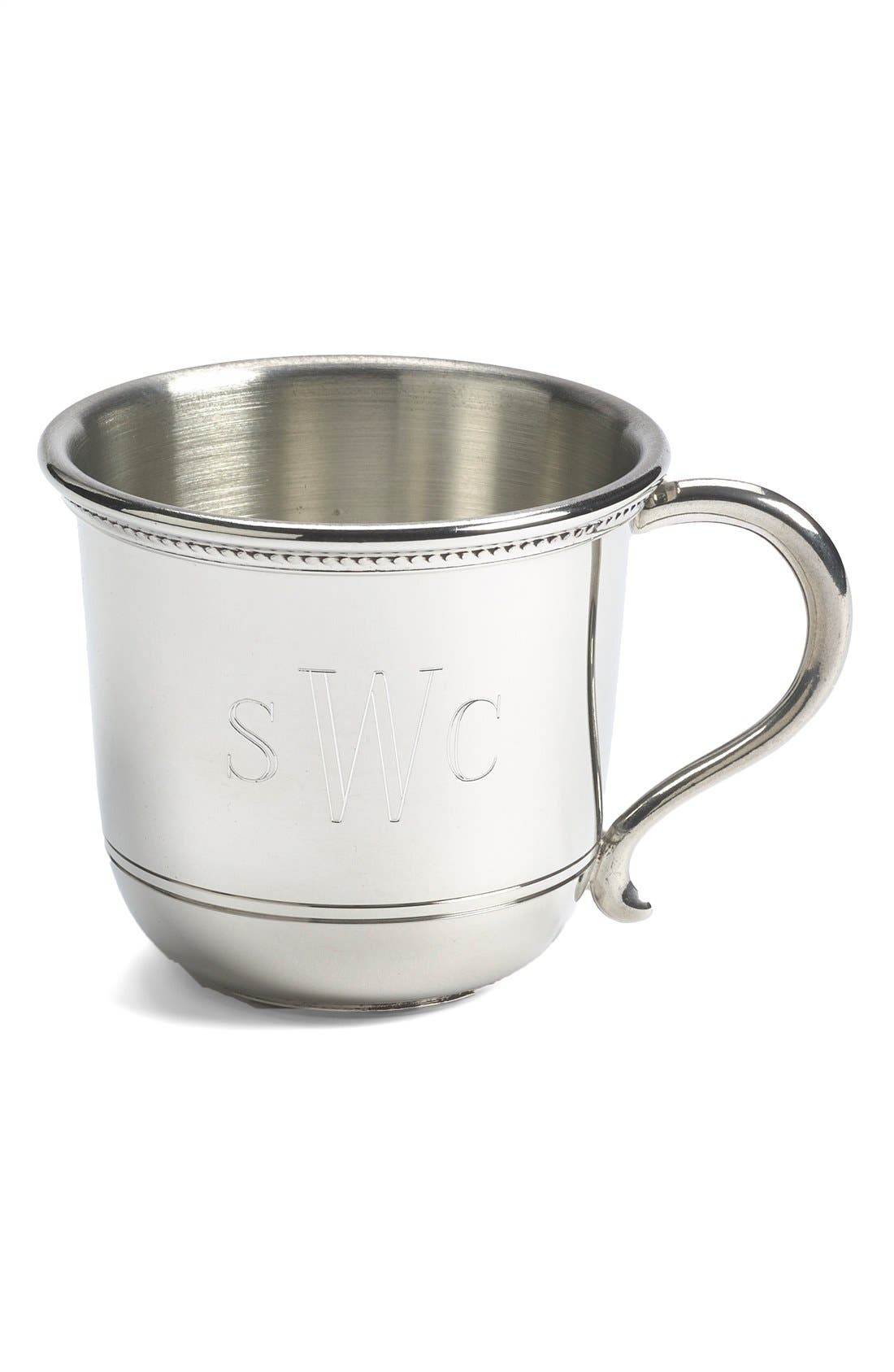 Salisbury Pewter Images Personalized Baby Cup