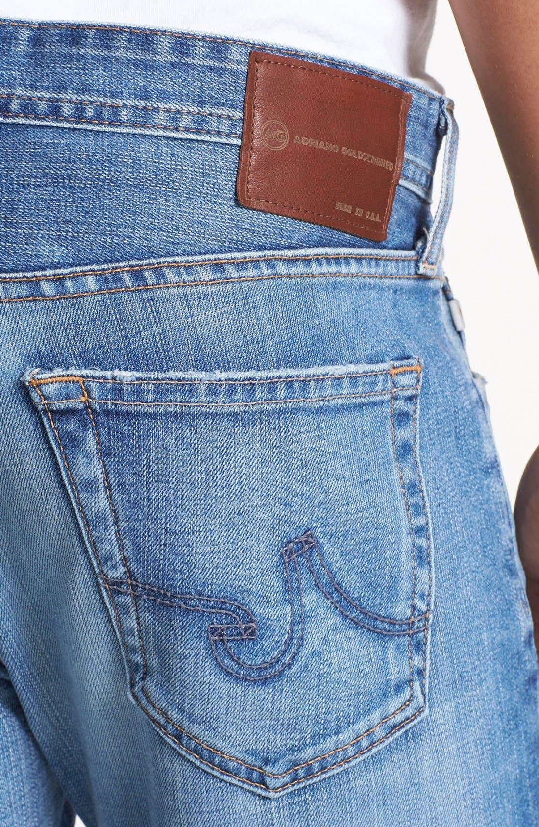 AG, 'Dylan' Slim Skinny Leg Jeans, Alternate thumbnail 2, color, 454