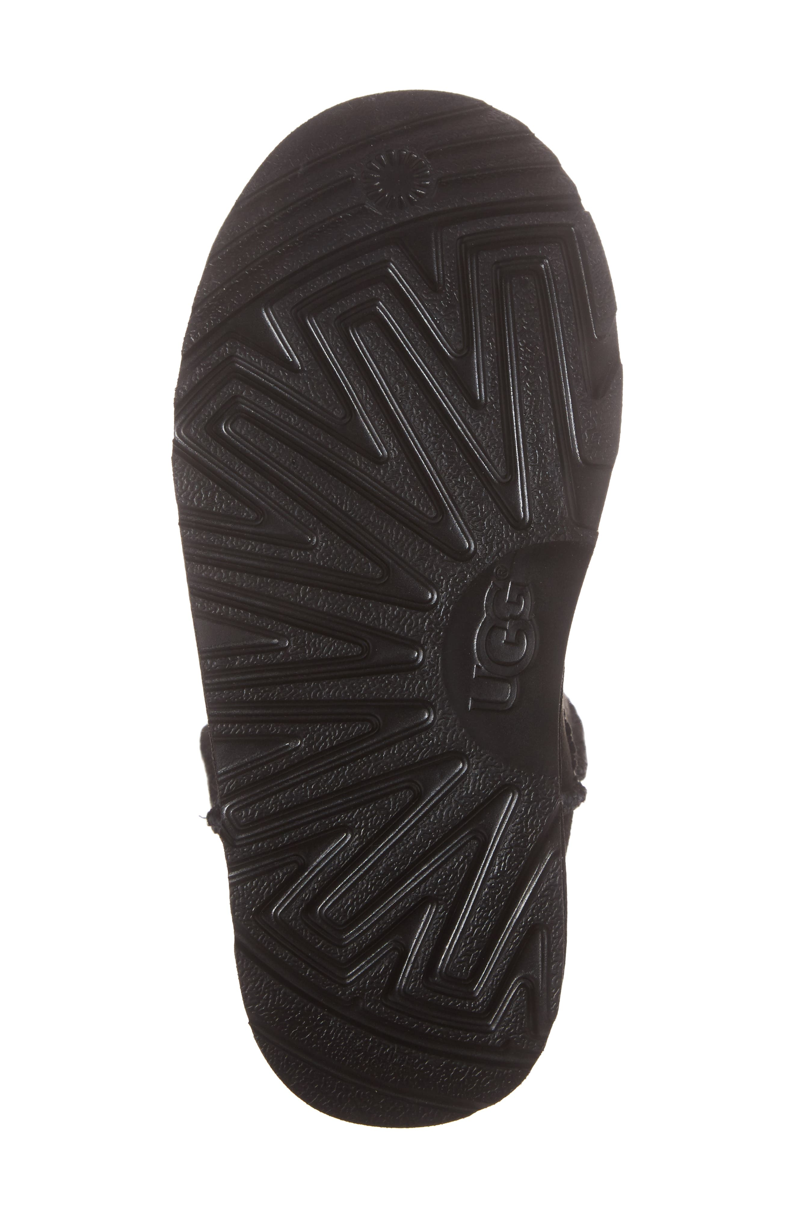 UGG<SUP>®</SUP>, Classic II Water-Resistant Tall Boot, Alternate thumbnail 6, color, BLACK