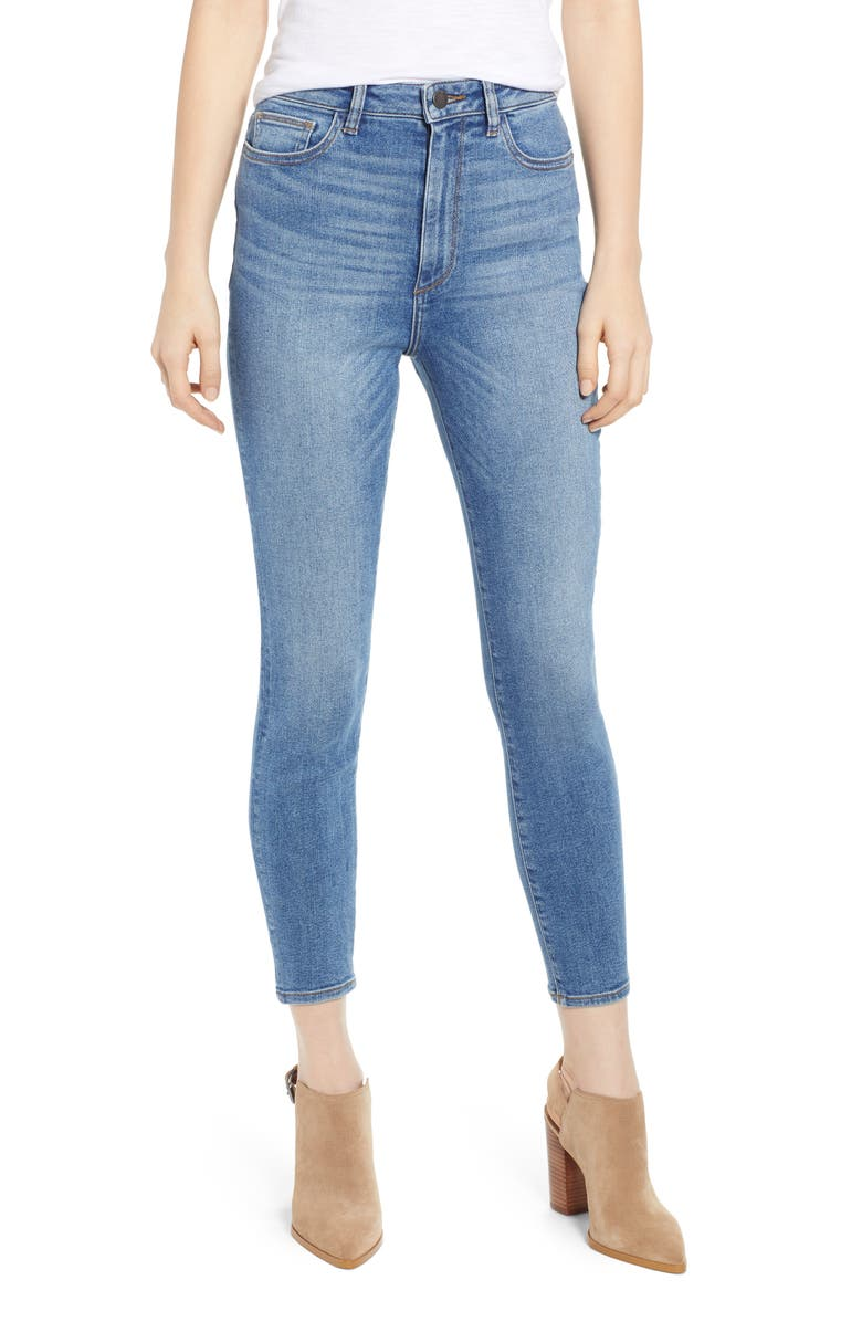 Dl Jeans 1961 CHRISSY ULTRA HIGH WAIST ANKLE SKINNY JEANS