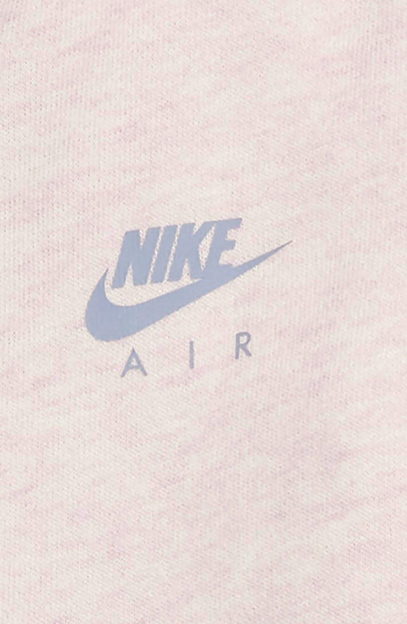 NIKE, Air Zip Hoodie & Pants Set, Alternate thumbnail 2, color, ASHEN SLATE