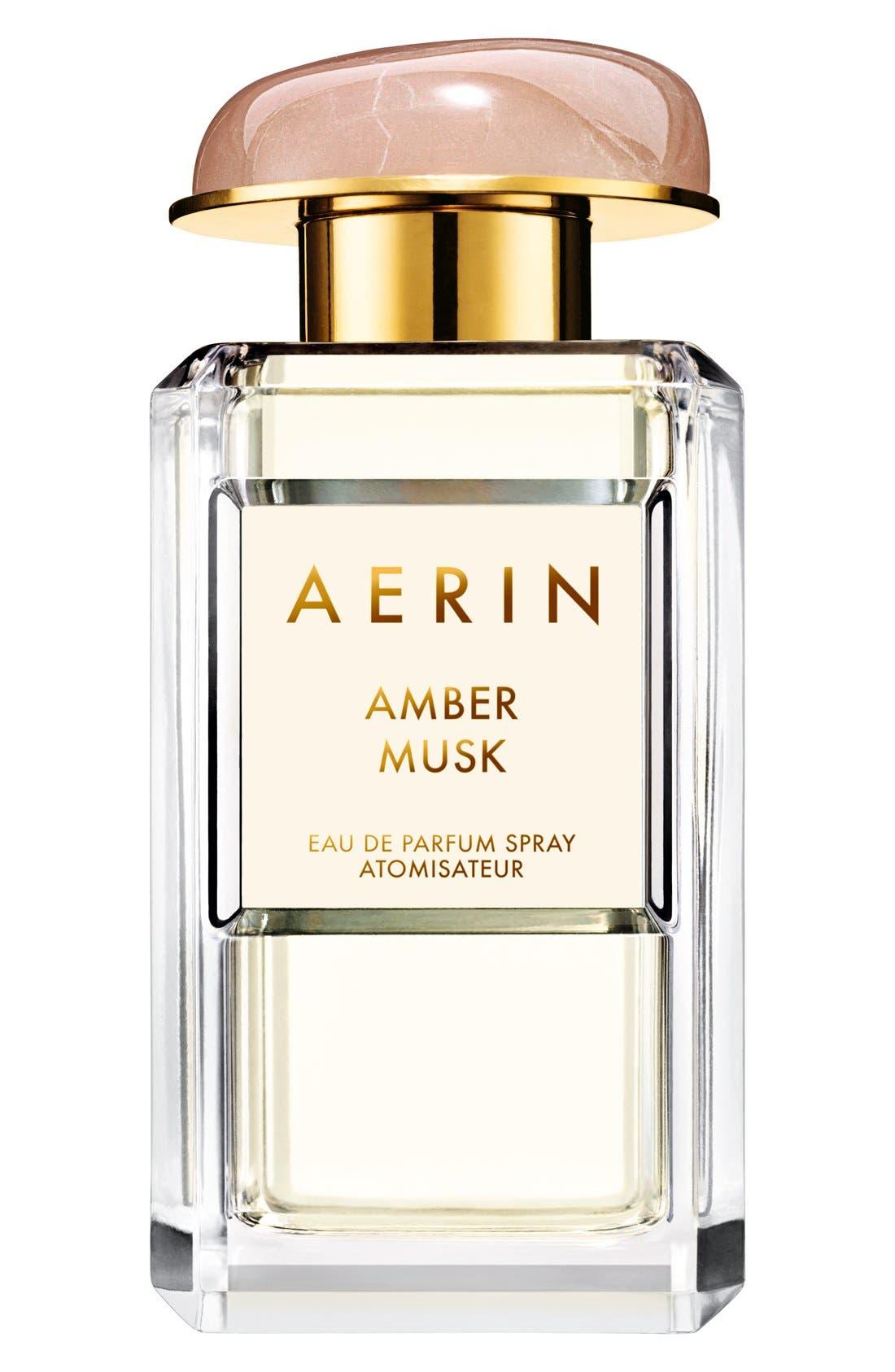 ESTÉE LAUDER, AERIN Beauty Amber Musk Eau de Parfum Spray, Main thumbnail 1, color, NO COLOR