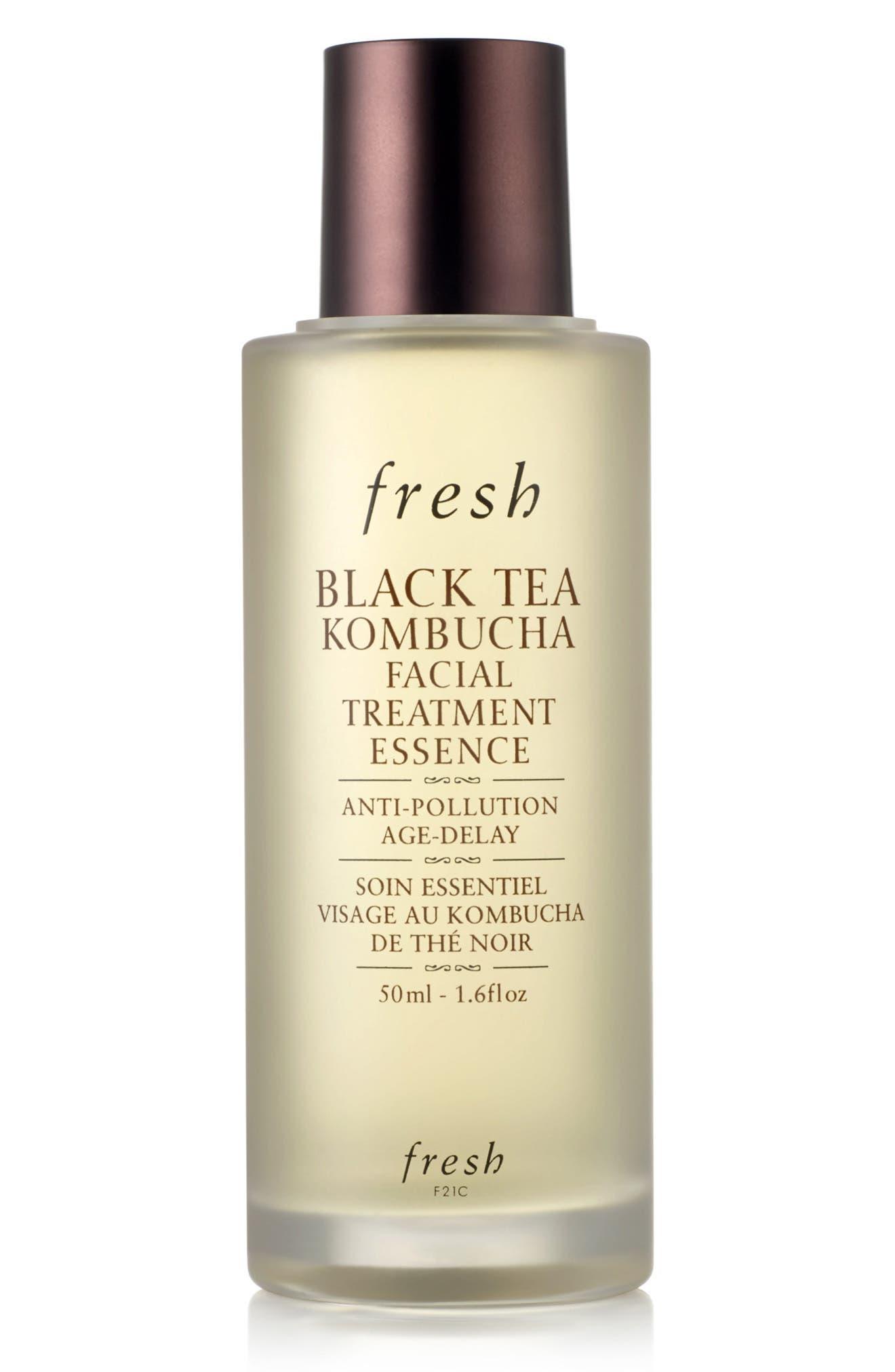 FRESH<SUP>®</SUP>, Black Tea Kombucha Facial Treatment Essence, Alternate thumbnail 4, color, NO COLOR