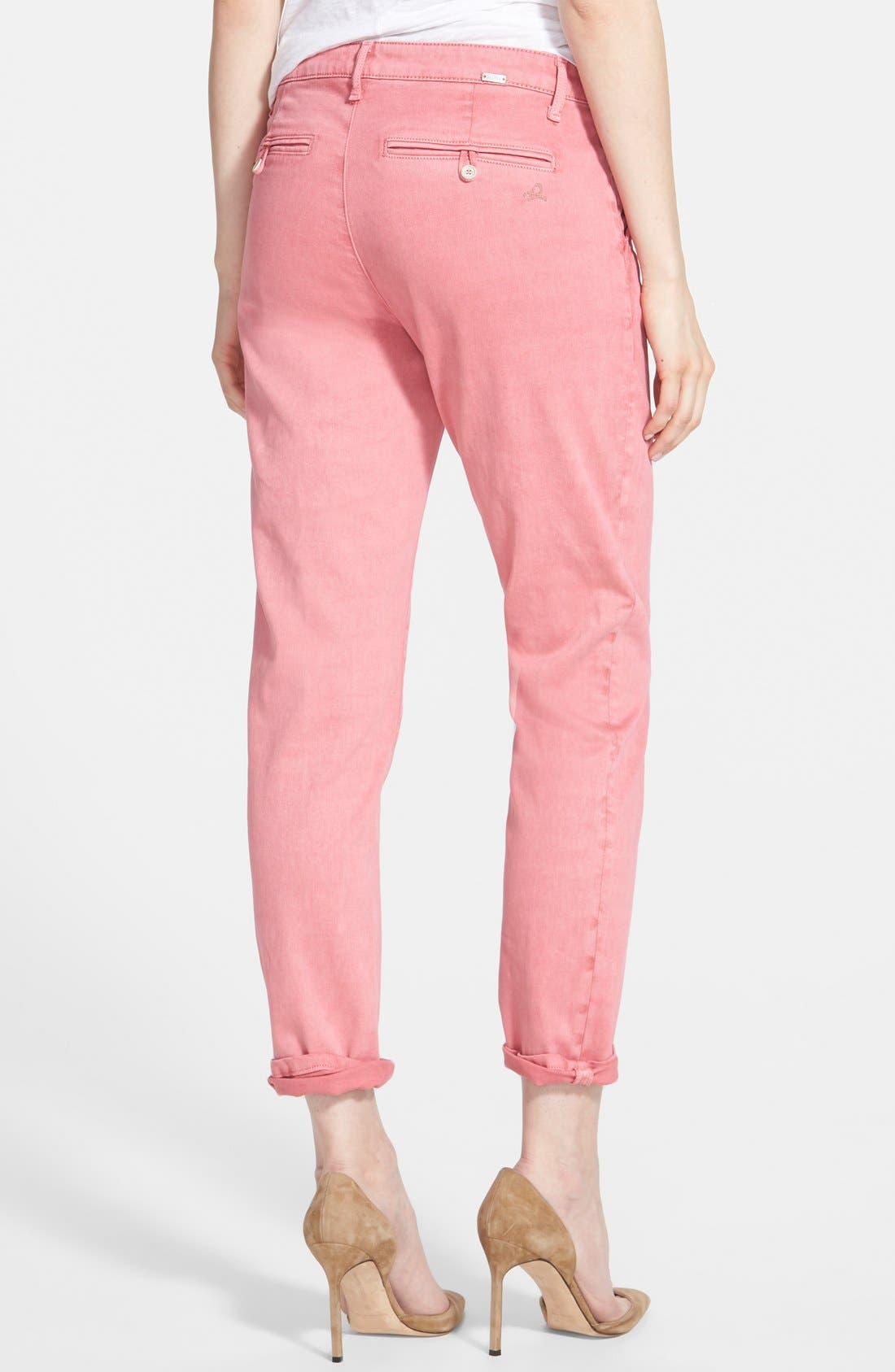 DL1961, 'Iris' Relaxed Trousers, Alternate thumbnail 2, color, 950