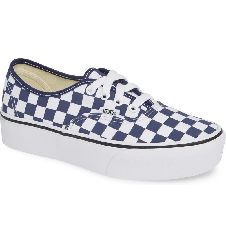 3ef72119409e48 Vans UA Authentic Platform 2.0 Sneaker (Women)