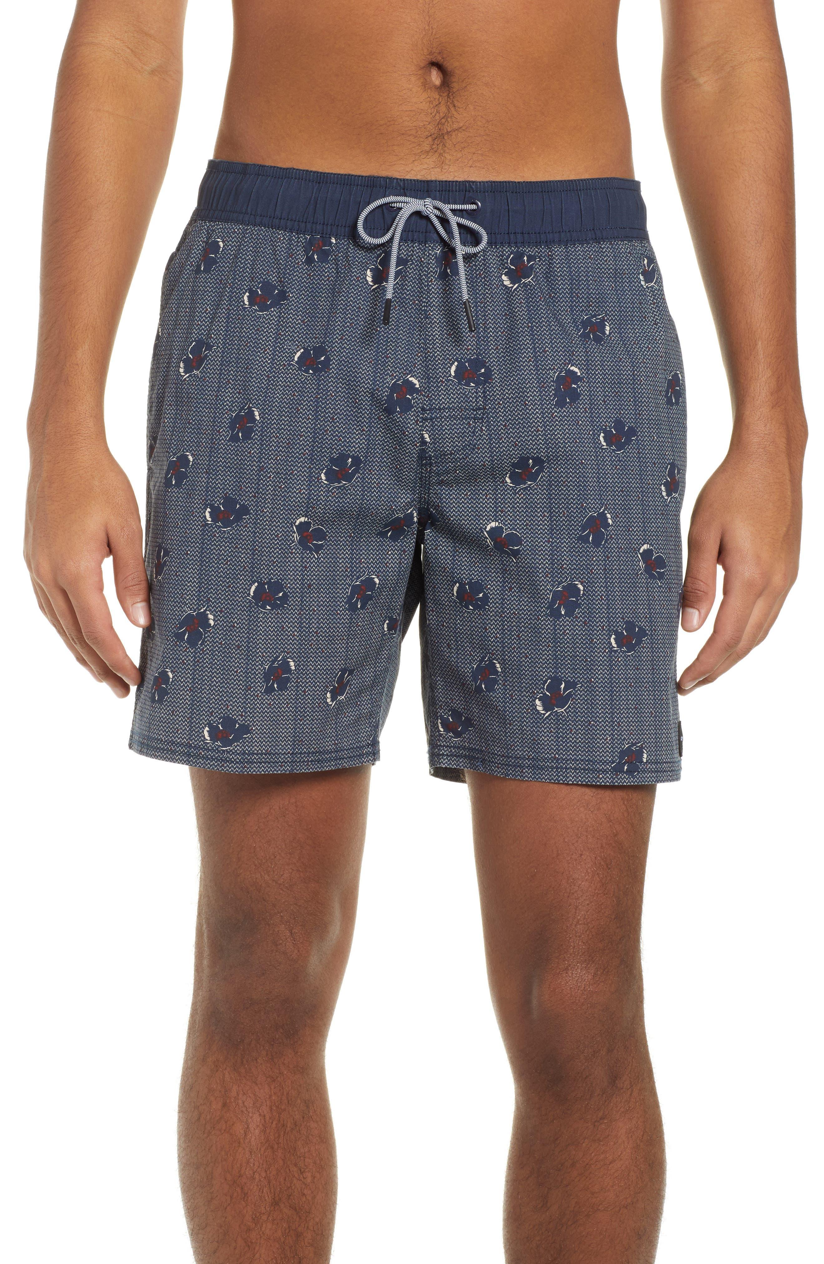 RVCA Newton Hybrid Shorts, Main, color, NAVY