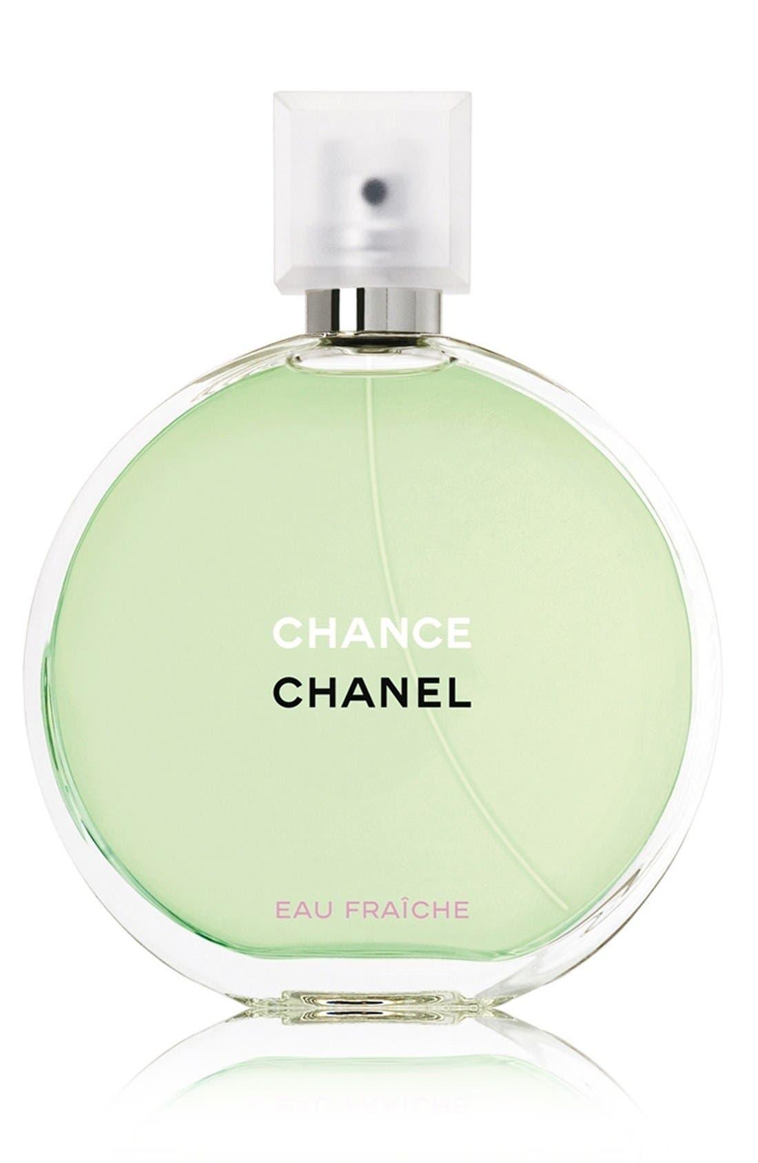 CHANEL CHANCE EAU FRAÎCHE<br />Eau de Toilette Spray, Main, color, NO COLOR