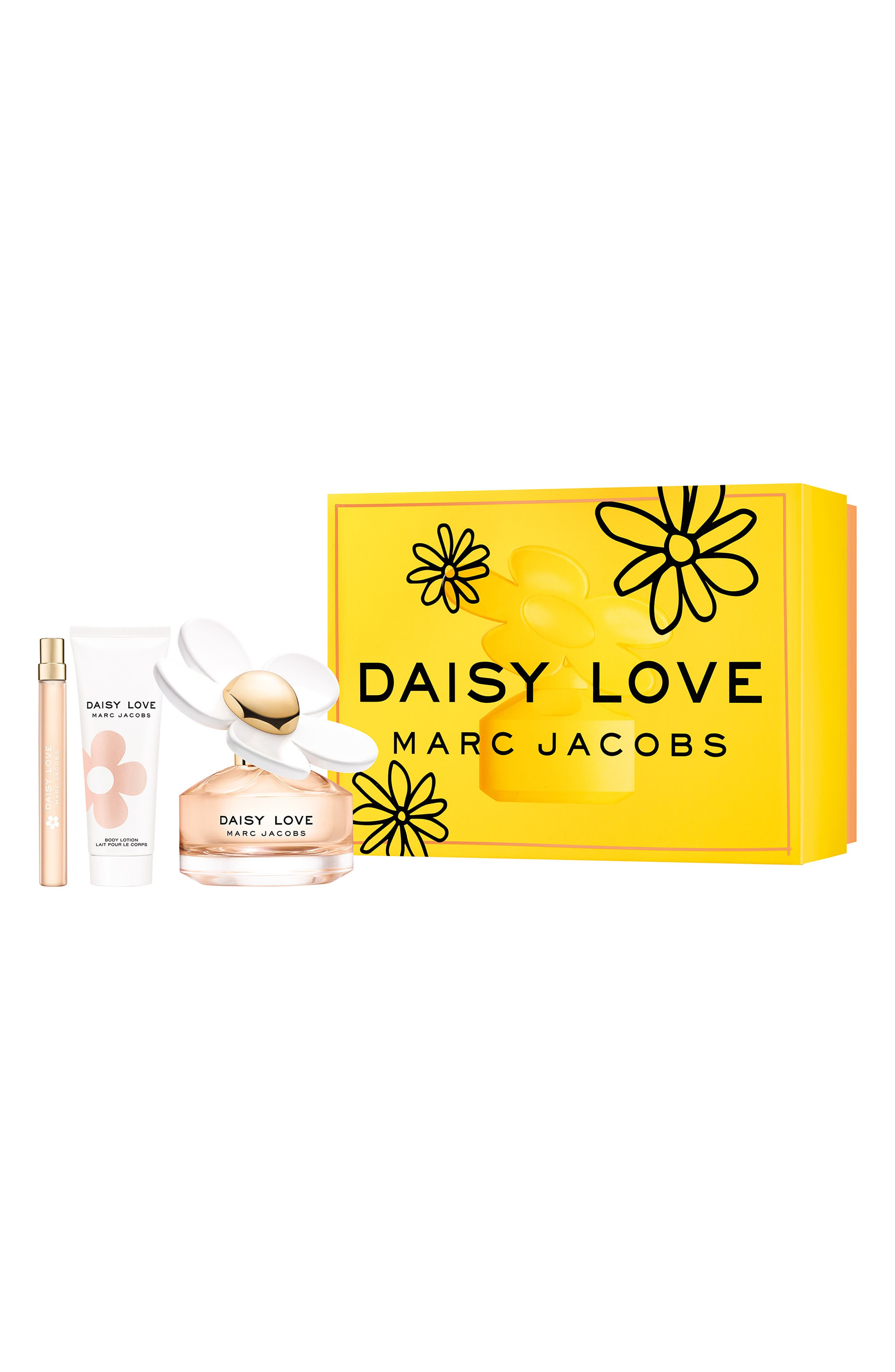 MARC JACOBS Daisy Love Set, Main, color, NO COLOR
