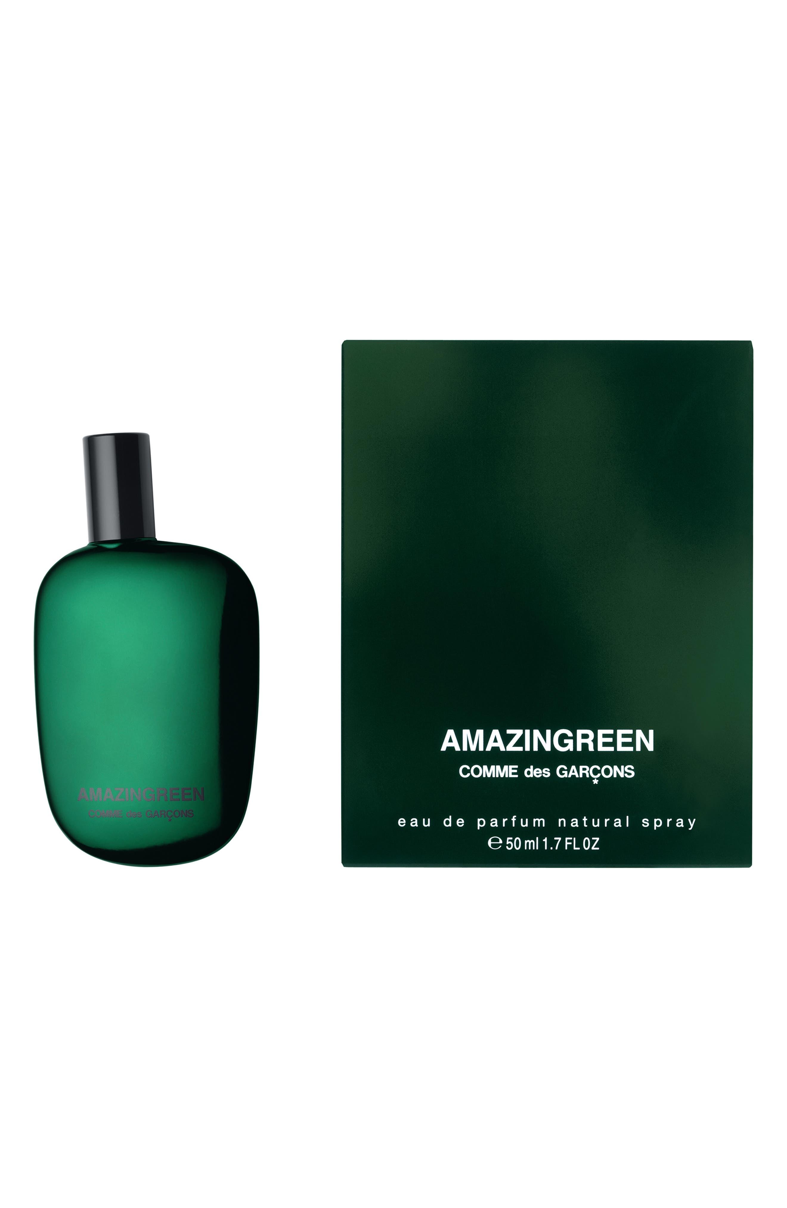 COMME DES GARÇONS, Amazingreen Eau de Parfum, Alternate thumbnail 2, color, GREEN