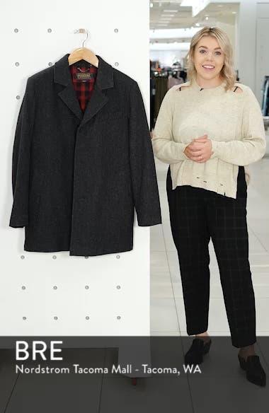 Iconic Textures Manhattan Wool Blend Top Coat, sales video thumbnail