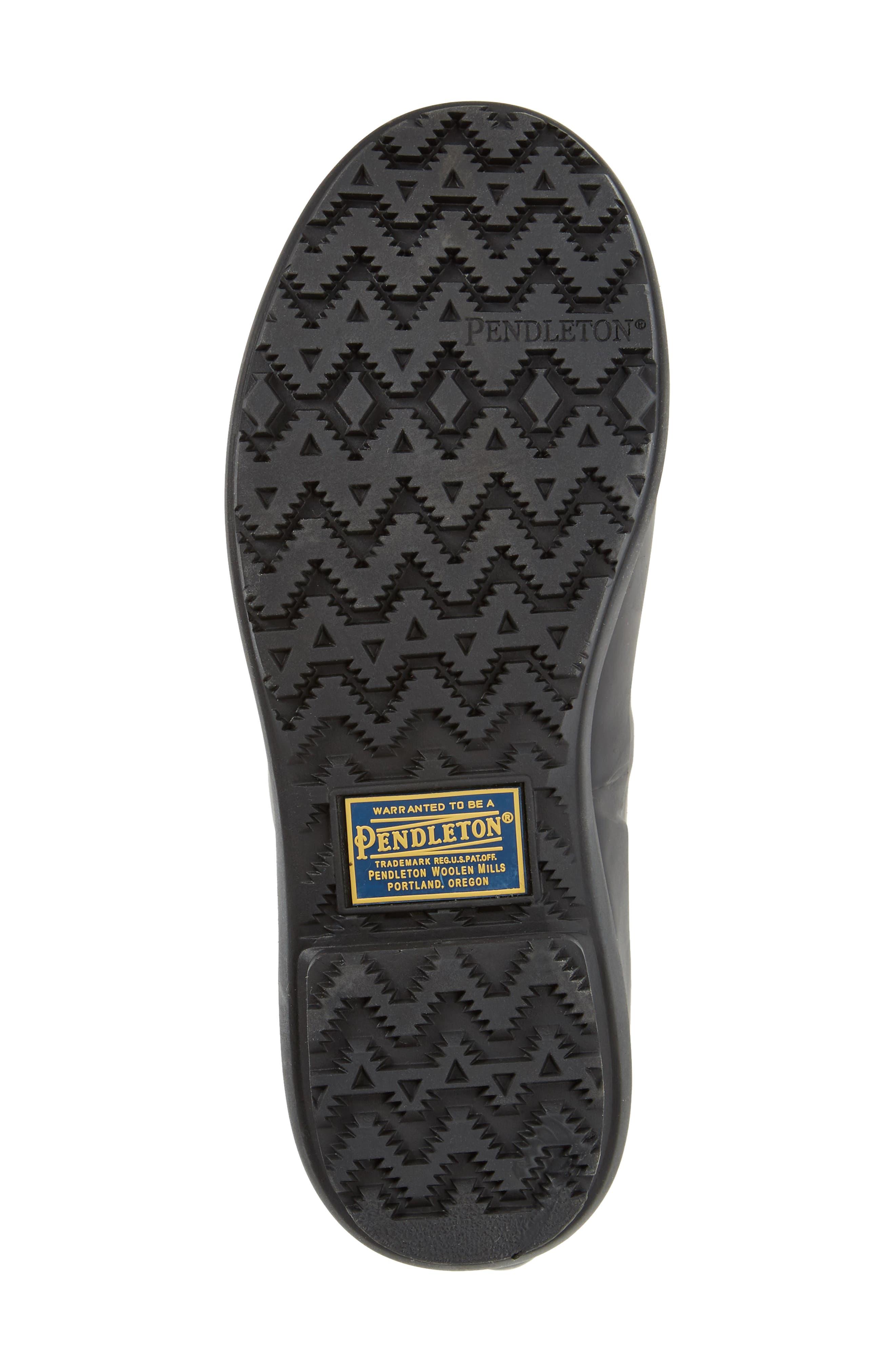 PENDLETON, Heritage Cunningham Tartan Tall Boot, Alternate thumbnail 6, color, SCARLET
