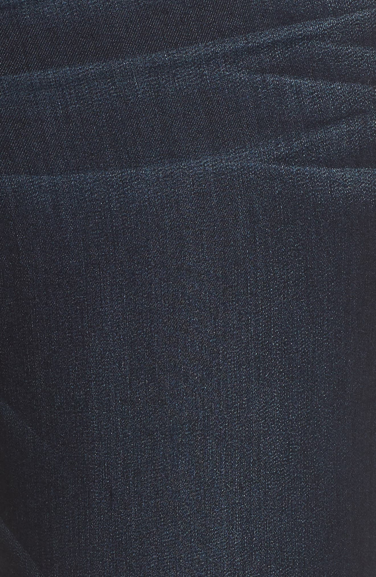 WIT & WISDOM, 'Itty Bitty' Bootcut Jeans, Alternate thumbnail 6, color, INDIGO
