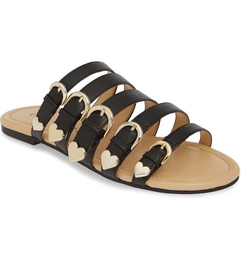 1bee0e199 Katy Perry Nikki Flat Slide Sandal In Black