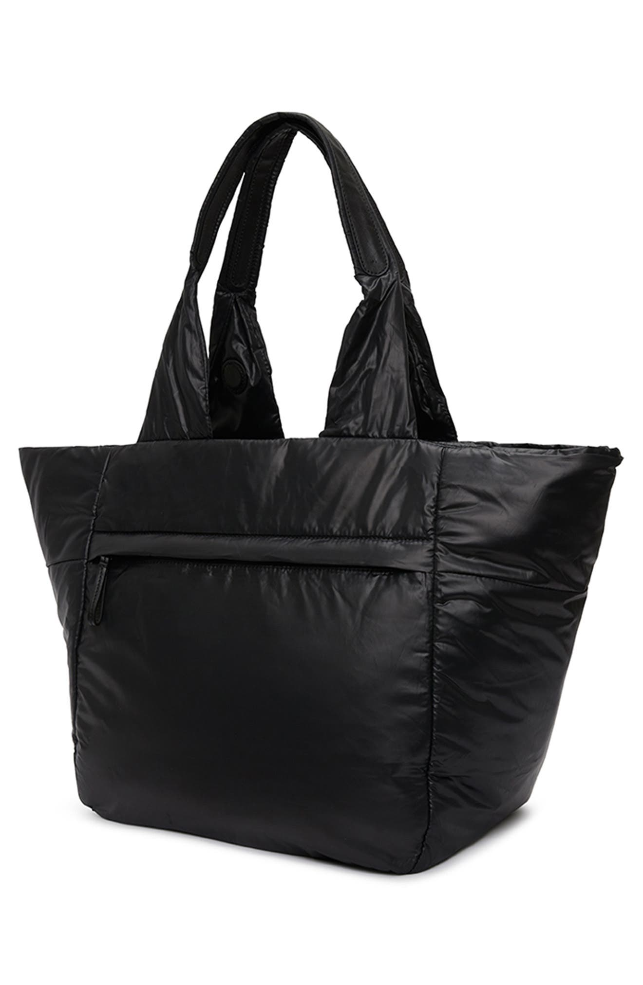 CARAA, Cumulus Tote, Alternate thumbnail 7, color, BLACK
