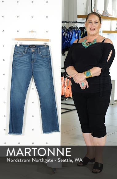 High Waist Crop Flare Jeans, sales video thumbnail
