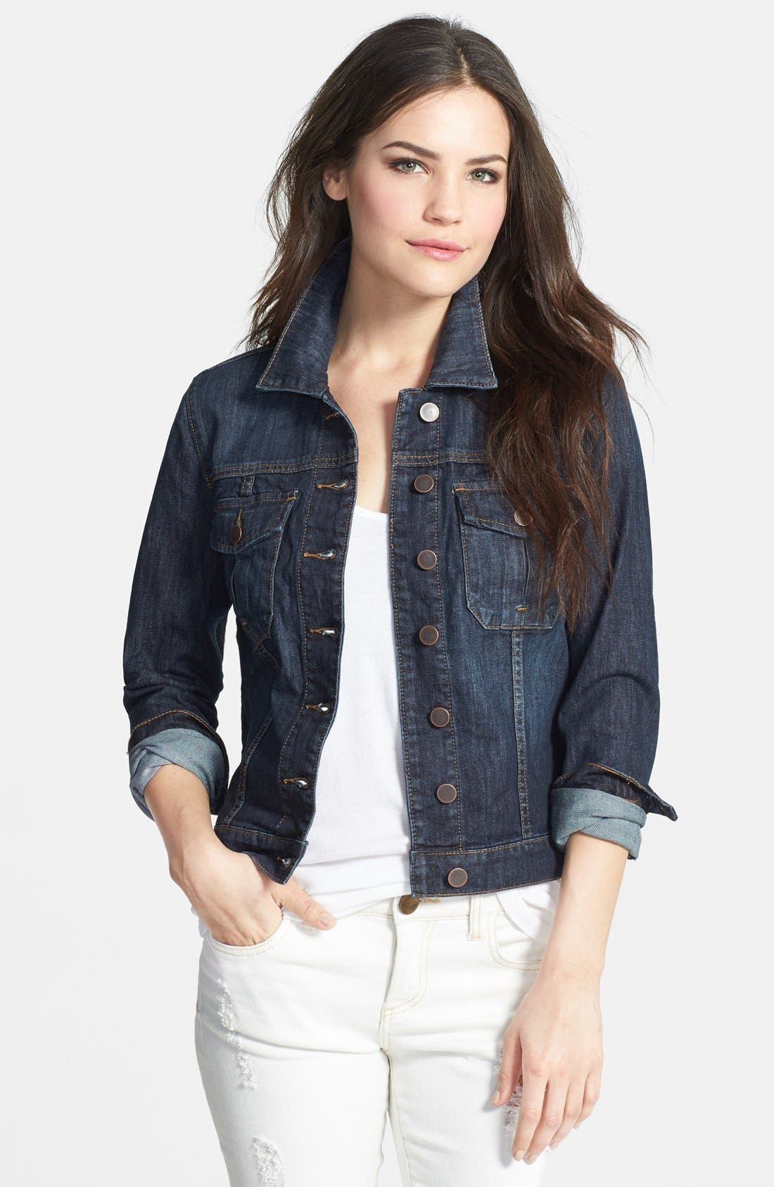 KUT FROM THE KLOTH Denim Jacket, Main, color, 400