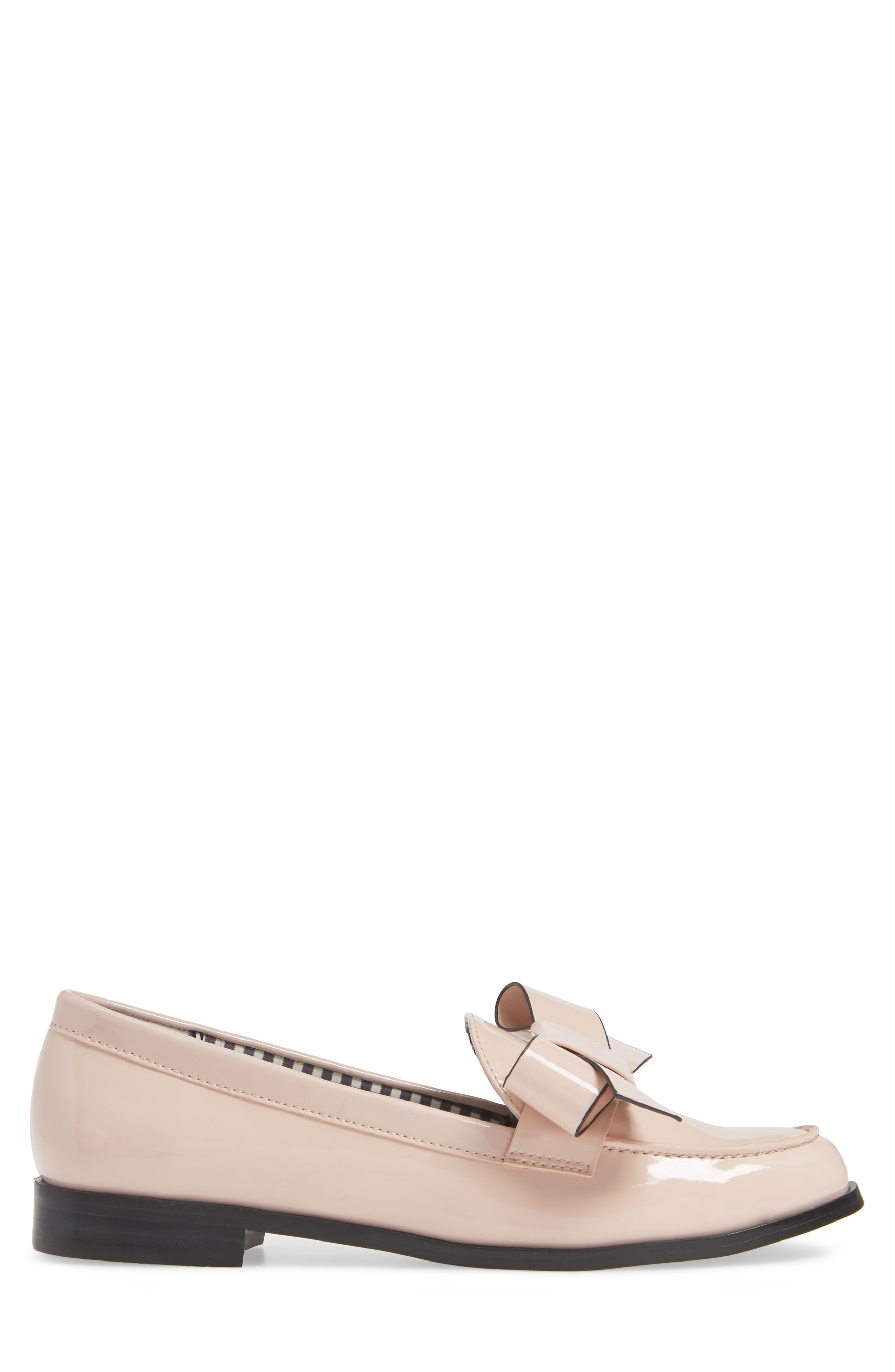 1901, Reenie Loafer, Alternate thumbnail 3, color, BLUSH PATENT PU