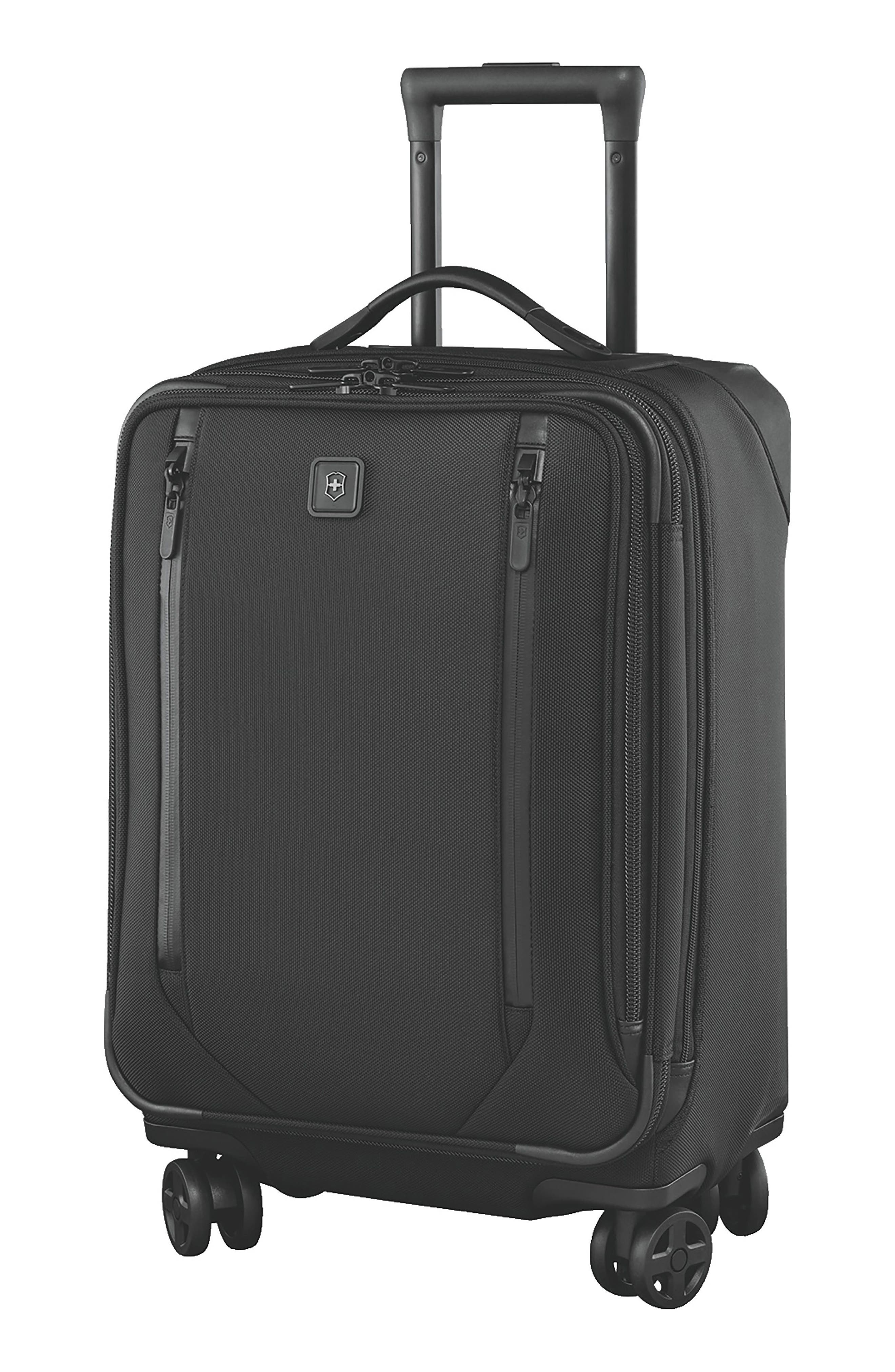 VICTORINOX SWISS ARMY<SUP>®</SUP> Lexicon 2.0 24-Inch Wheeled Suitcase, Main, color, BLACK