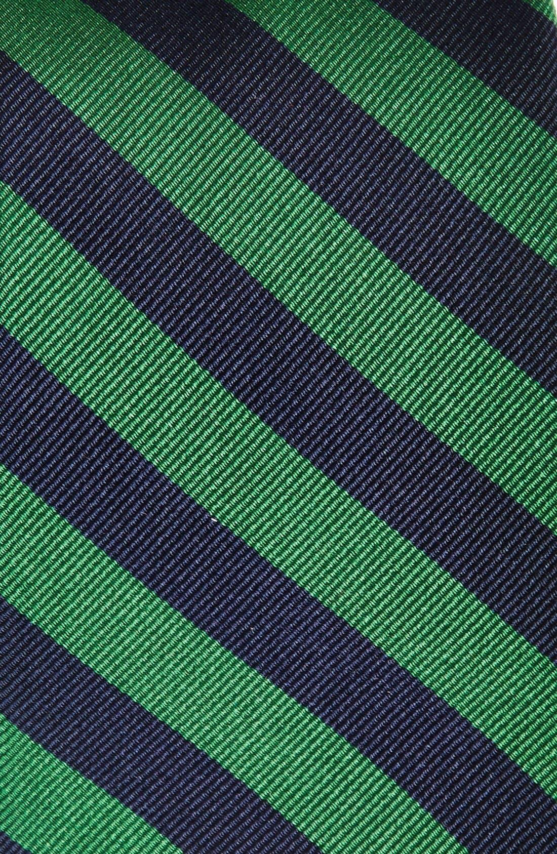 GITMAN, Stripe Silk Tie, Alternate thumbnail 2, color, 300