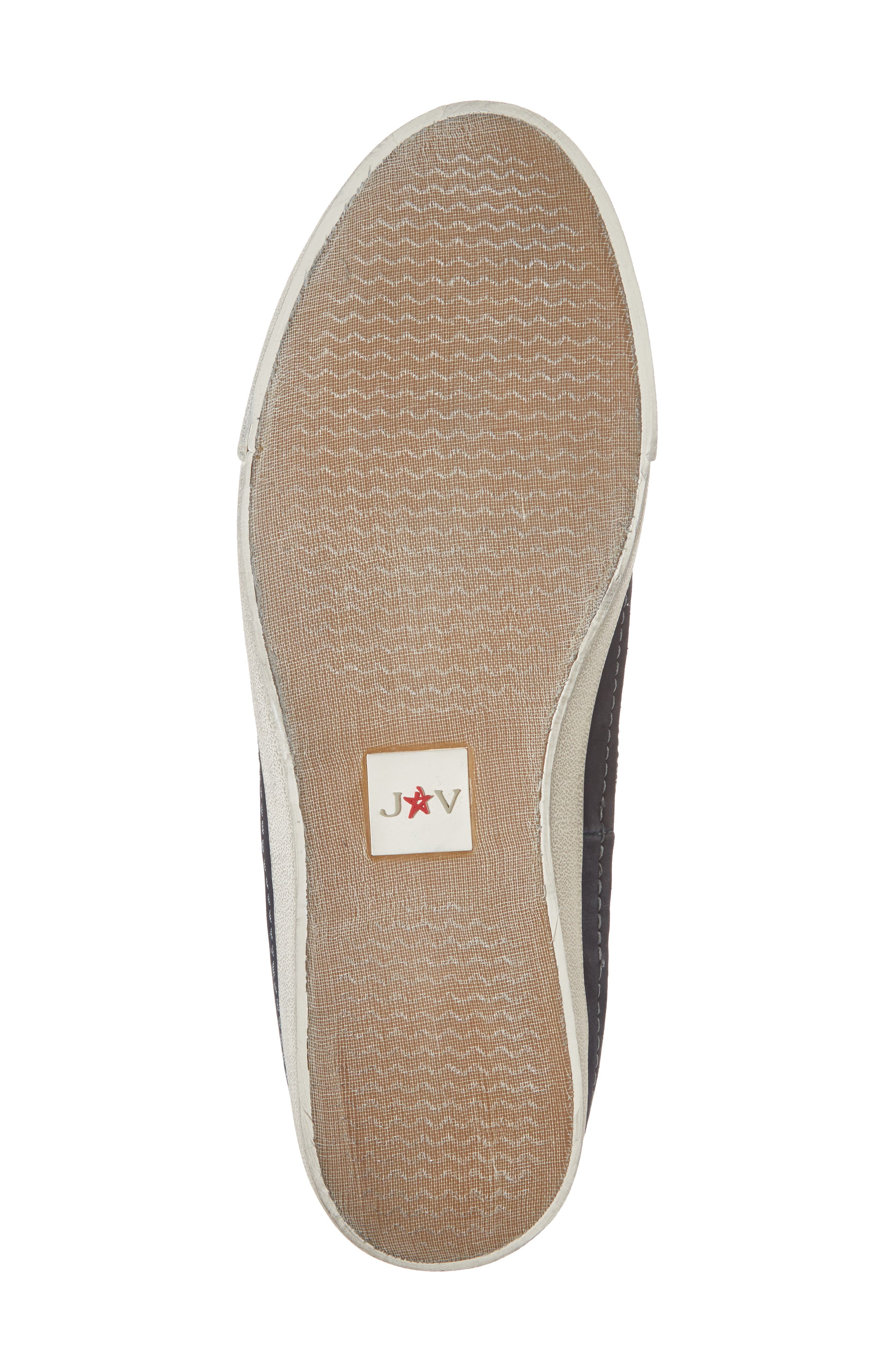 JOHN VARVATOS STAR USA, Jett Slip-On Sneaker, Alternate thumbnail 6, color, MIDNIGHT