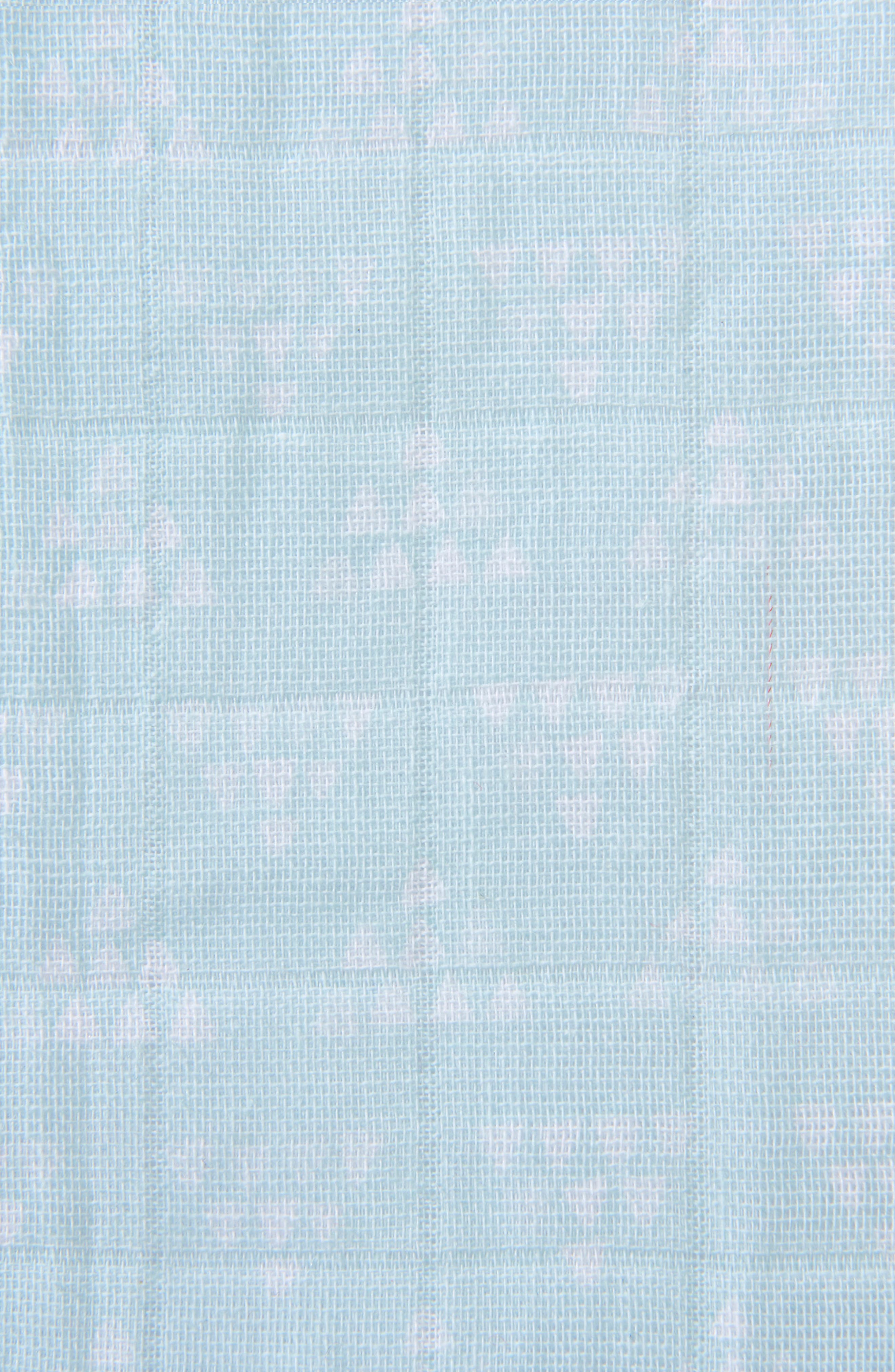 HALO<SUP>®</SUP>, Platinum Series SleepSack<sup>™</sup> Quilted Muslin Wearable Blanket, Alternate thumbnail 6, color, MINT PYRAMID