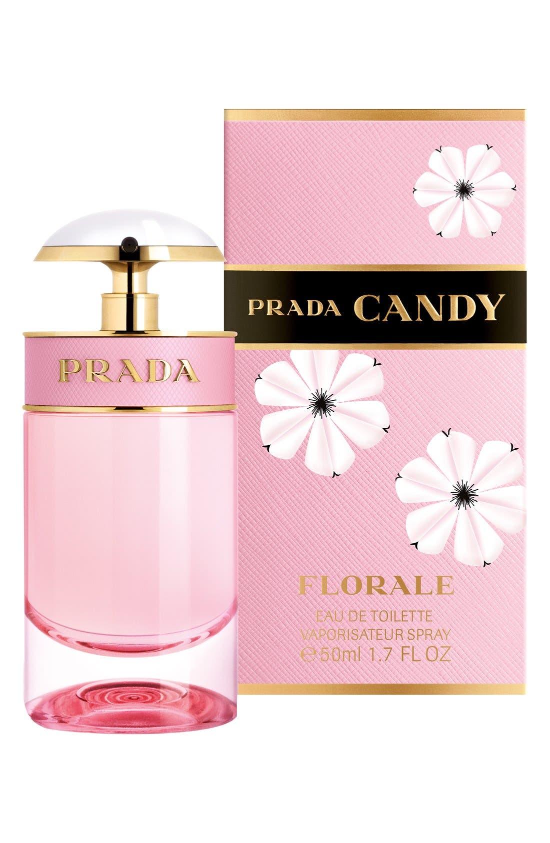 PRADA, Candy Florale Eau de Toilette, Main thumbnail 1, color, NO COLOR