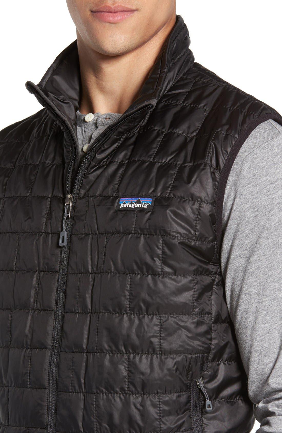 PATAGONIA, Nano Puff<sup>®</sup> Vest, Alternate thumbnail 5, color, BLACK