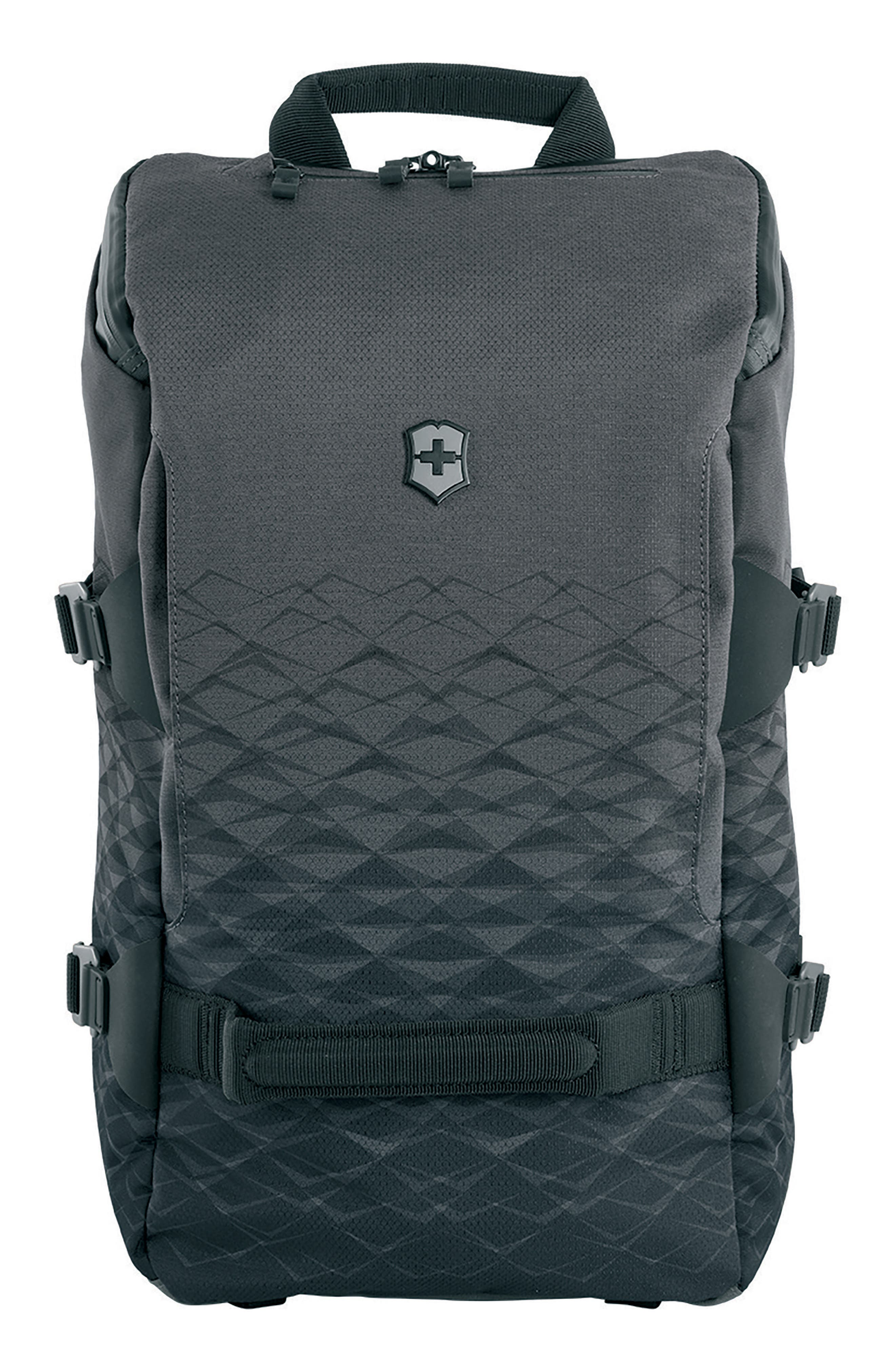 VICTORINOX SWISS ARMY<SUP>®</SUP>, VX Touring Backpack, Main thumbnail 1, color, ANTHRACITE