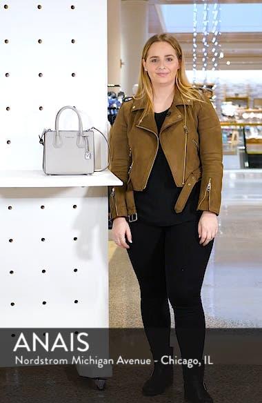 Medium Mercer Convertible Leather Tote, sales video thumbnail