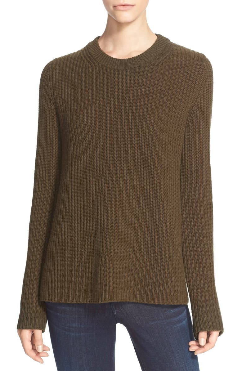 ab65b0d8f74 Theory 'Barda' Ribbed Wool & Cashmere Pullover | Nordstrom