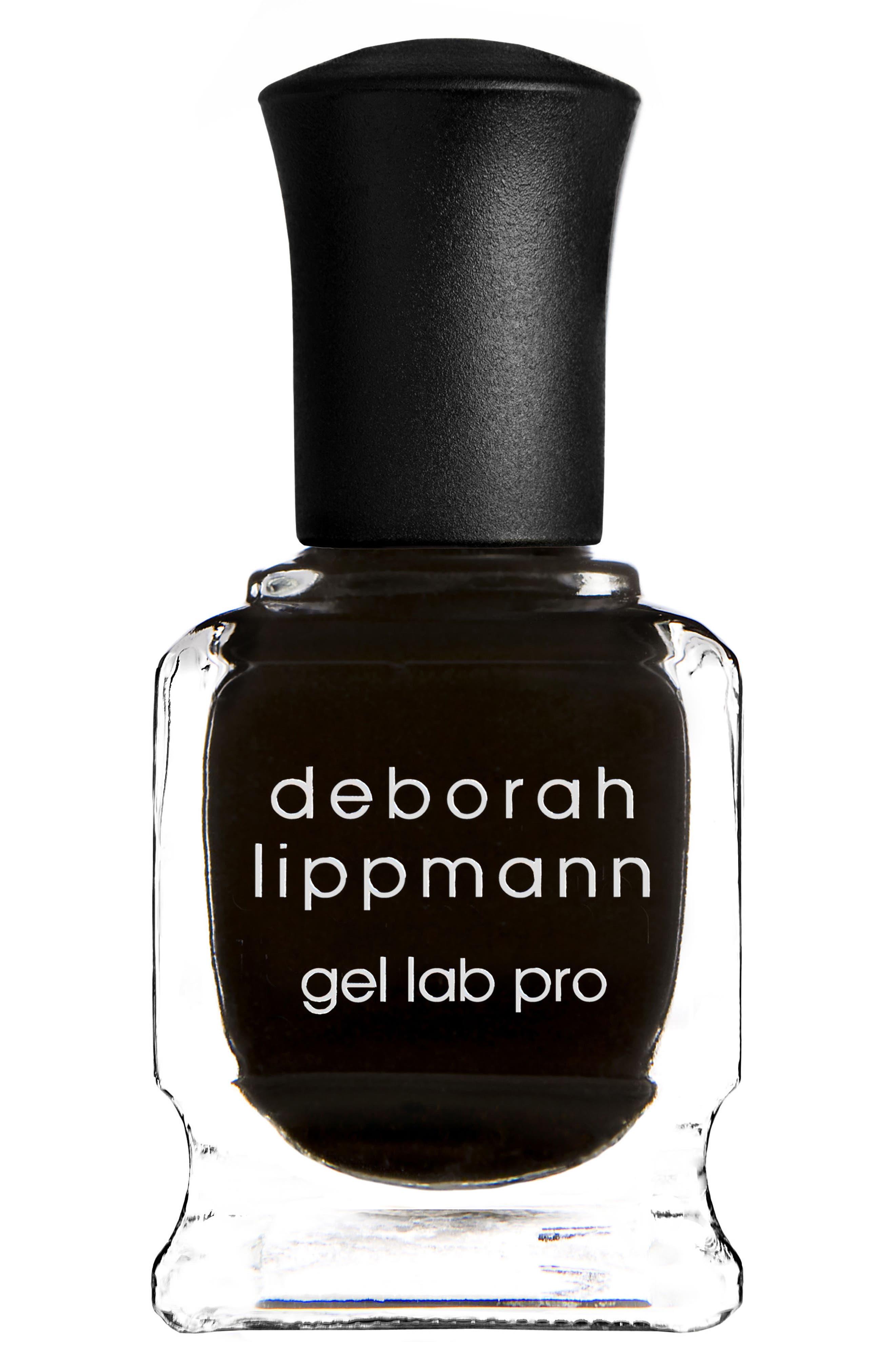 DEBORAH LIPPMANN Gel Lab Pro Nail Color, Main, color, FADE TO BLACK
