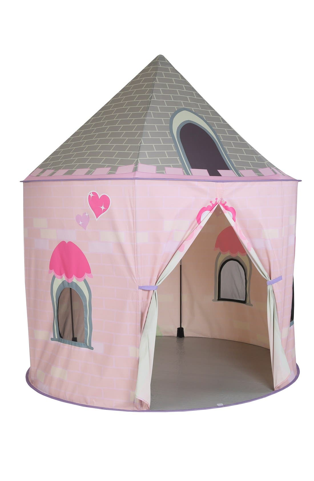 PACIFIC PLAY TENTS, 'Princess Castle' Pavilion, Main thumbnail 1, color, PINK/ WHITE