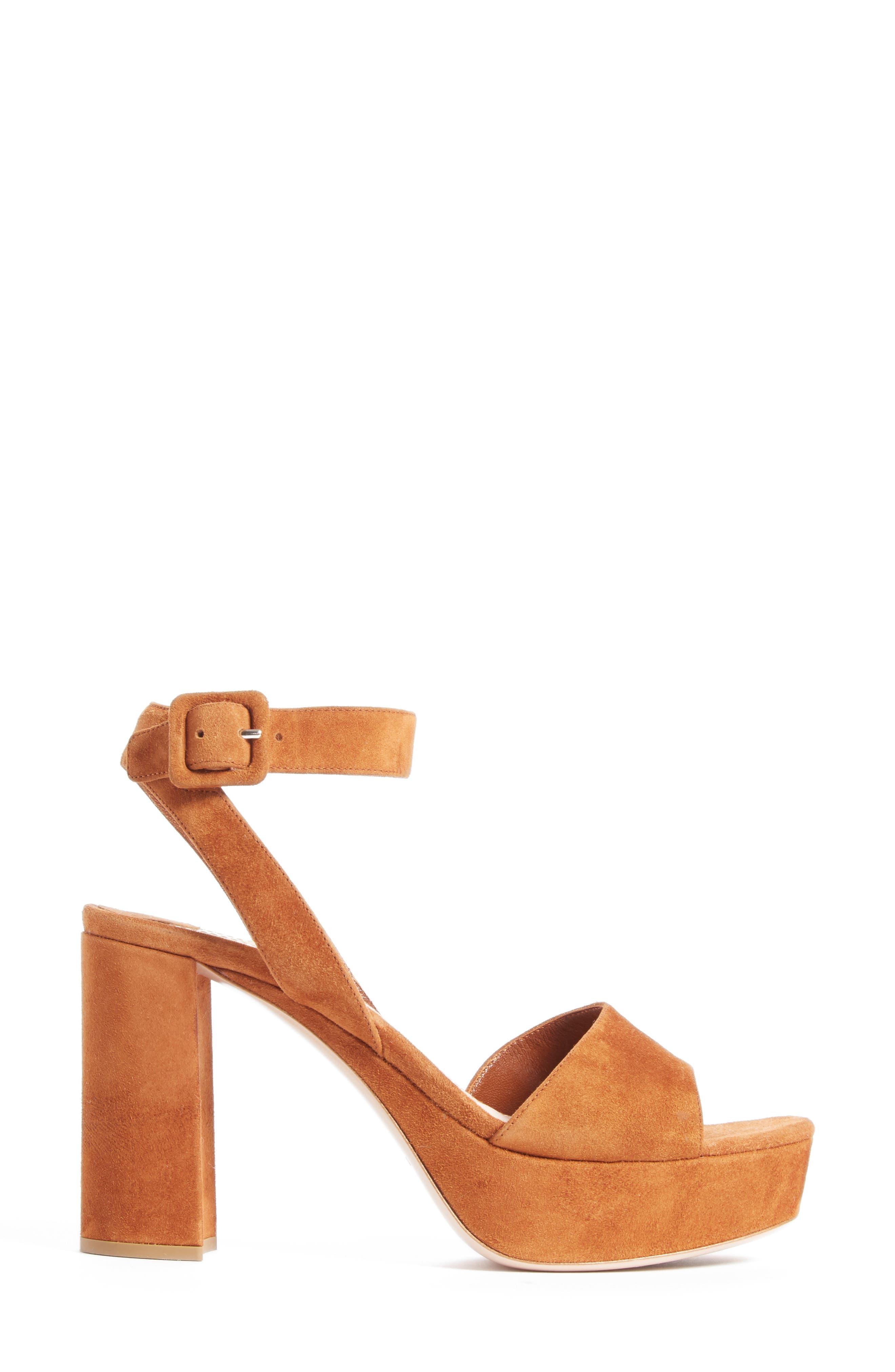 MIU MIU, 'Sandali' Ankle Strap Sandal, Alternate thumbnail 2, color, 200