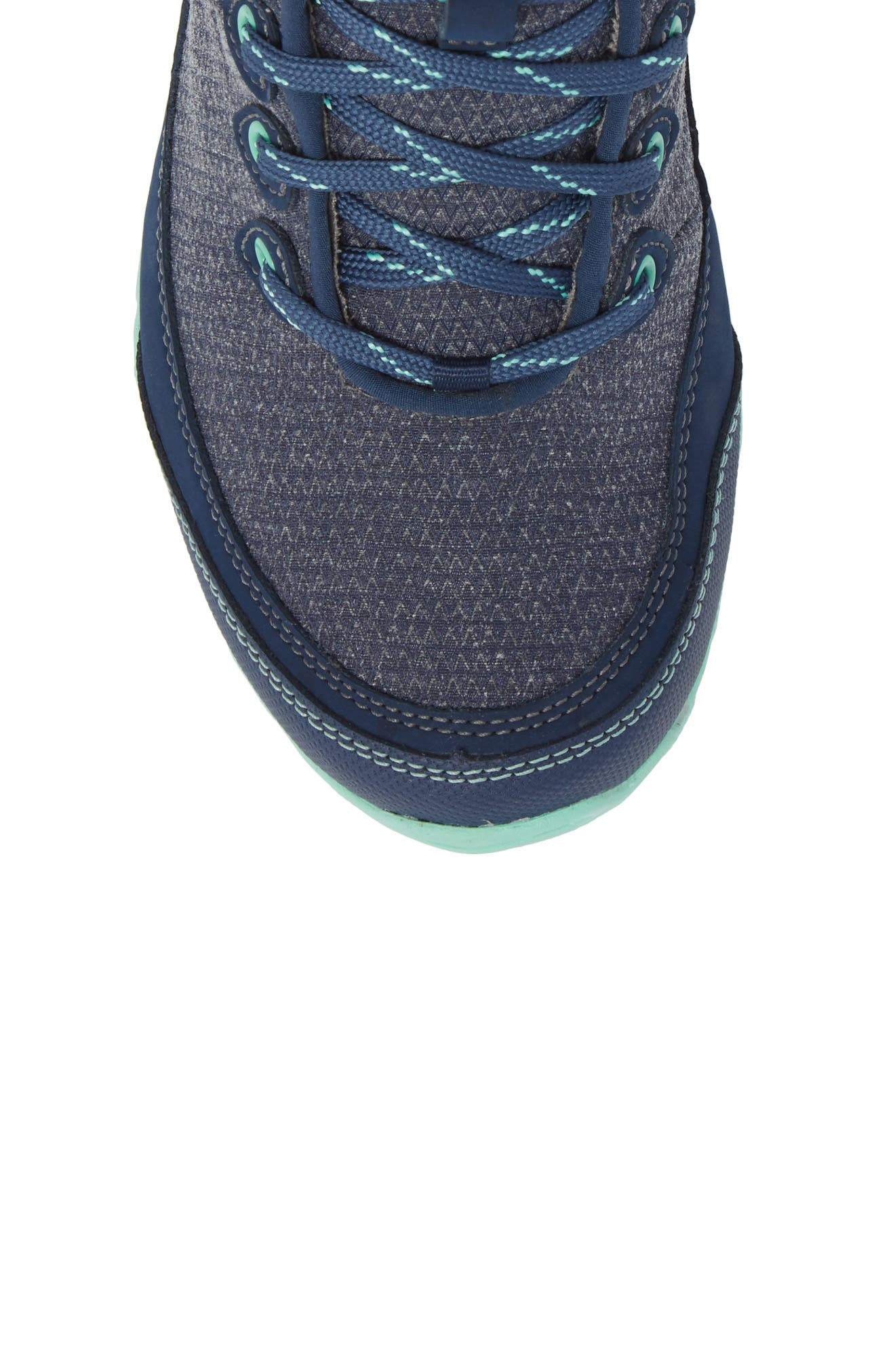 TEVA, Ahnu by Teva Sugarpine II Waterproof Hiking Boot, Alternate thumbnail 5, color, INSIGNIA BLUE