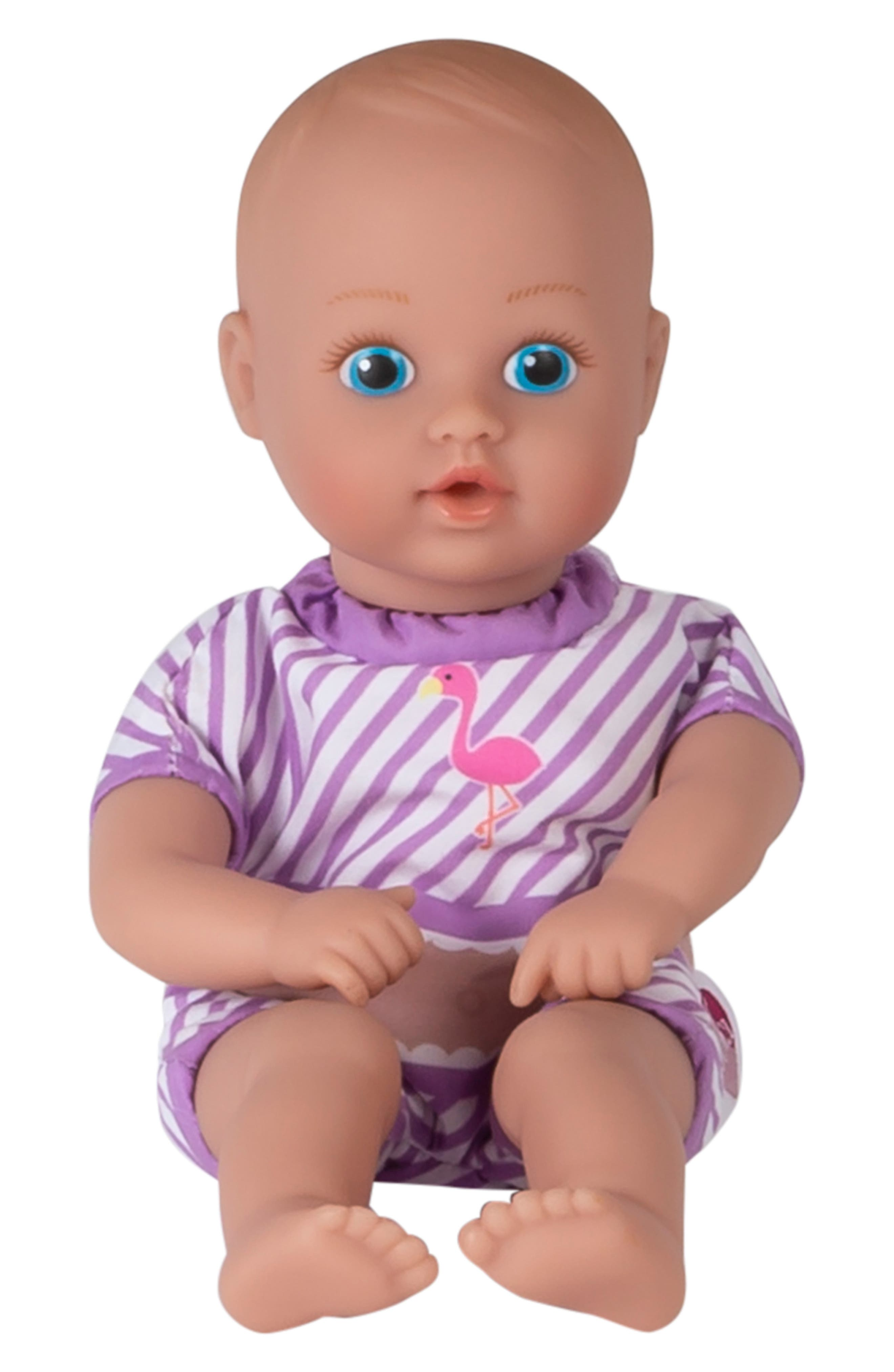 ADORA, Flamingo Splashtime Baby Doll, Alternate thumbnail 5, color, PINK