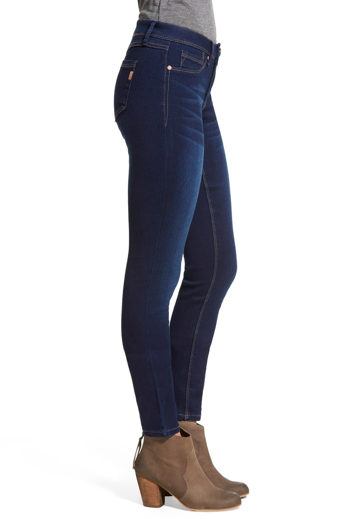 1822 DENIM, Butter Skinny Jeans, Alternate thumbnail 5, color, LENNOX