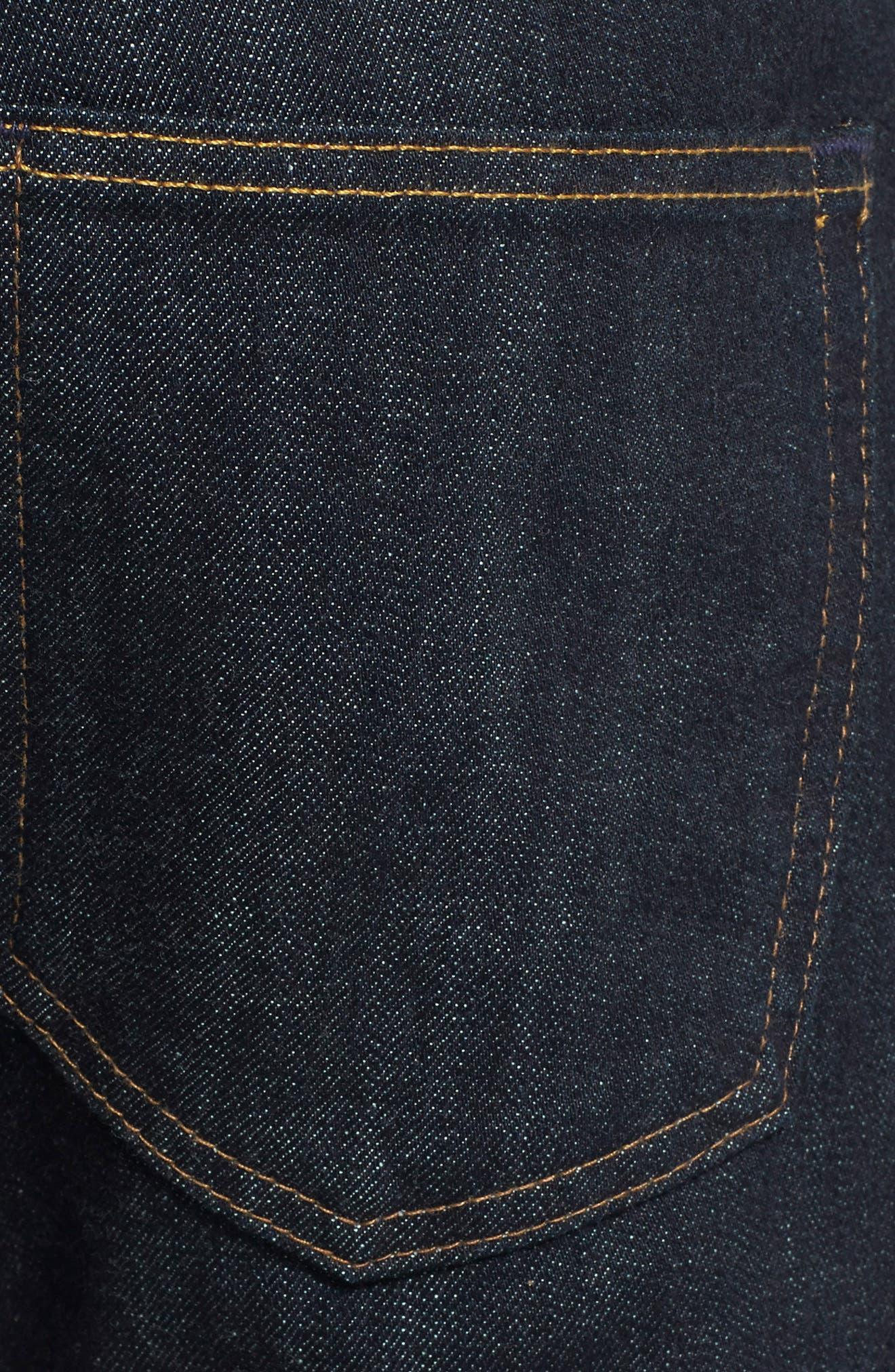 AG, Tellis Slim Fit Jeans, Alternate thumbnail 6, color, ALPHA