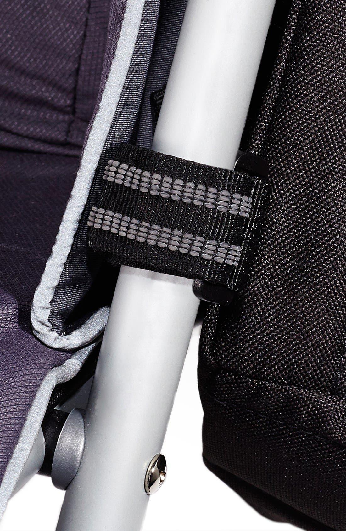 SKIP HOP, Stroller Saddle Bag, Alternate thumbnail 4, color, BLACK