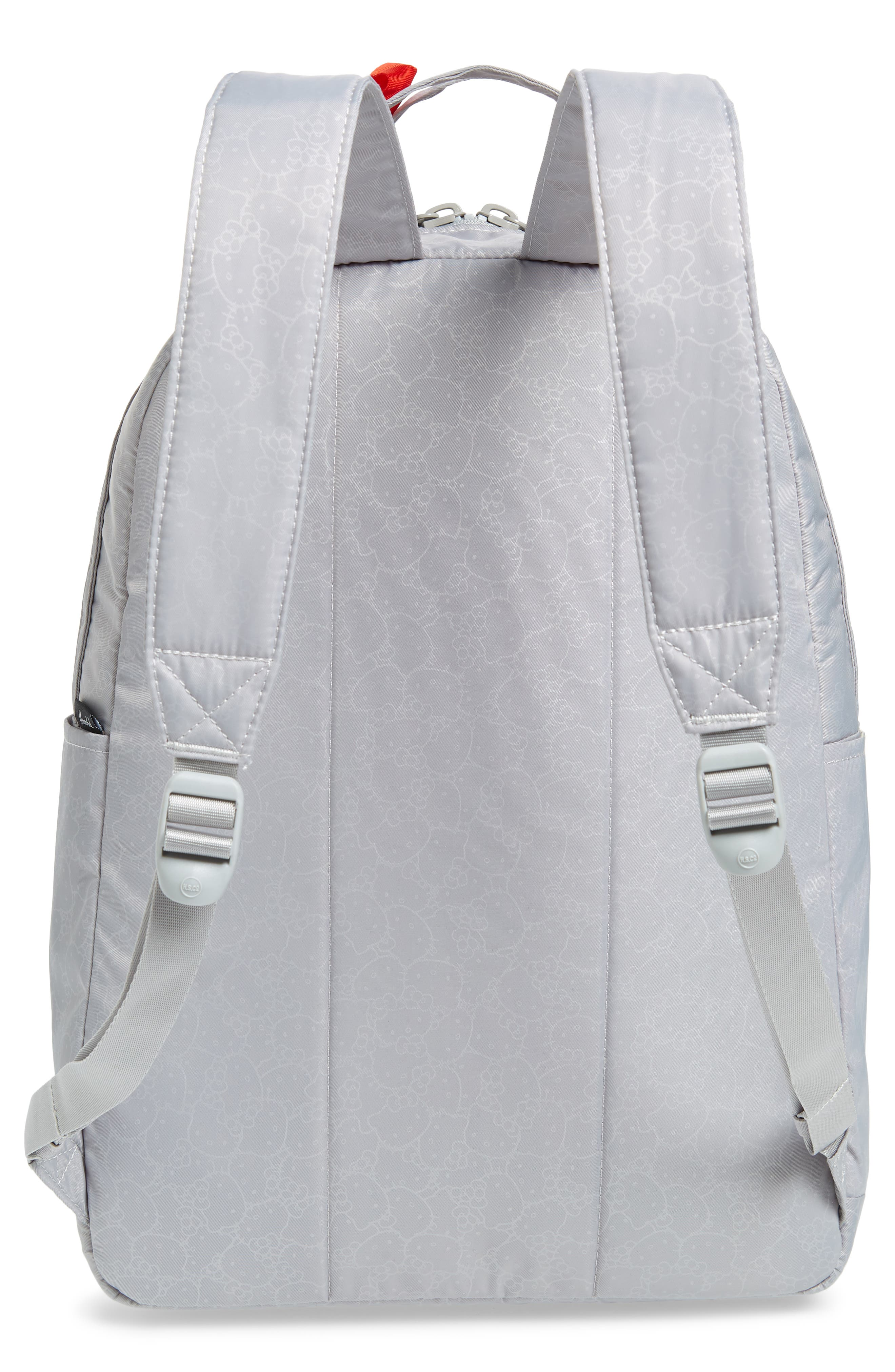 HERSCHEL SUPPLY CO., x Hello Kitty Nova Mid Volume Backpack, Alternate thumbnail 4, color, HIGHRISE