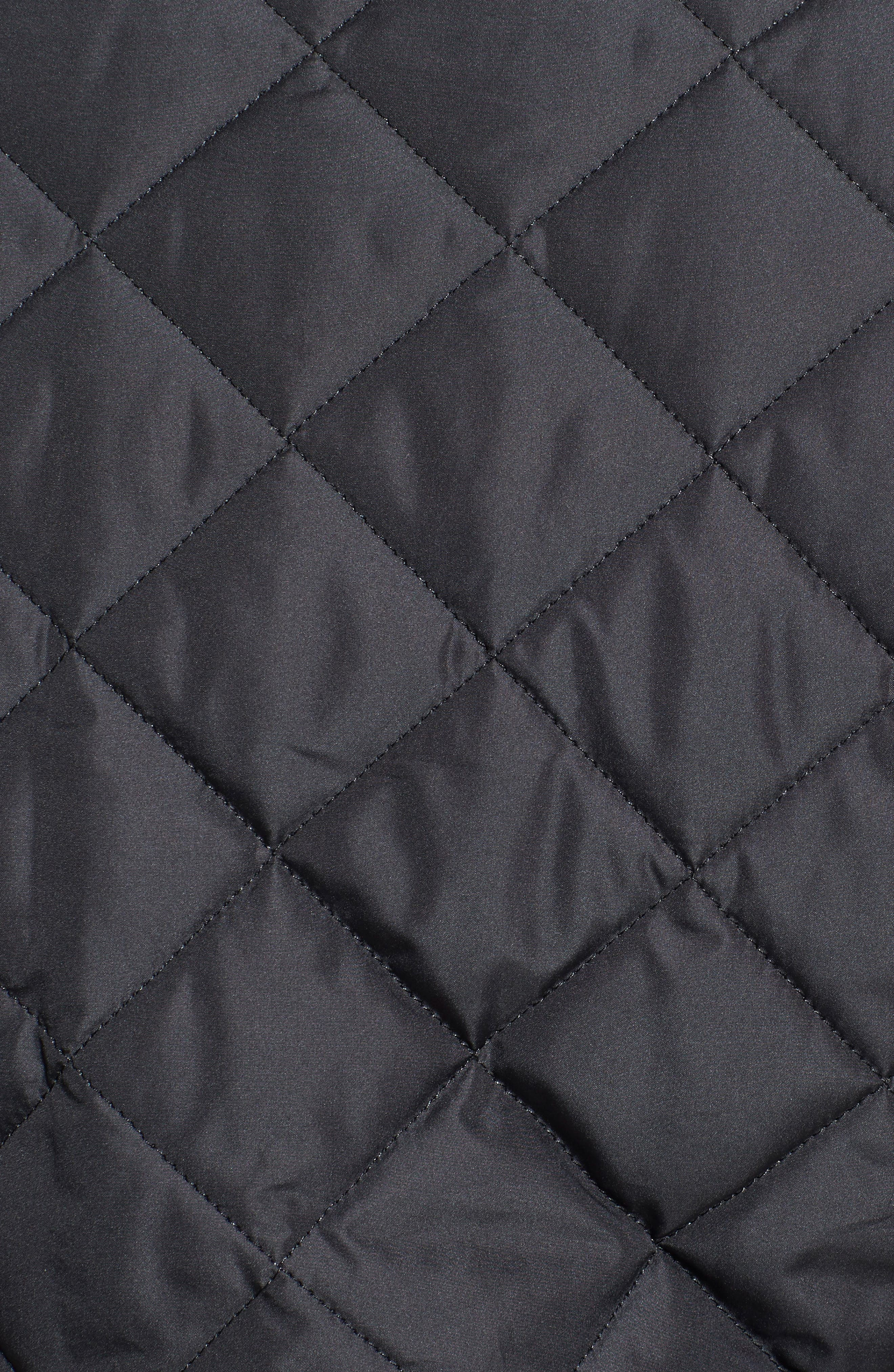 BARBOUR, Lowerdale Quilted Vest, Alternate thumbnail 2, color, 001
